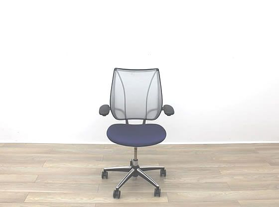 Used Humanscale 'Liberty' chair with fine mesh back and upholstered seat.