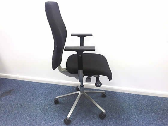 Further view of these Orangebox X10 operator chairs in excellent condition.
