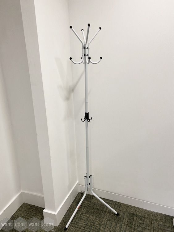 Various used coat stands all priced the same - first come, first served.