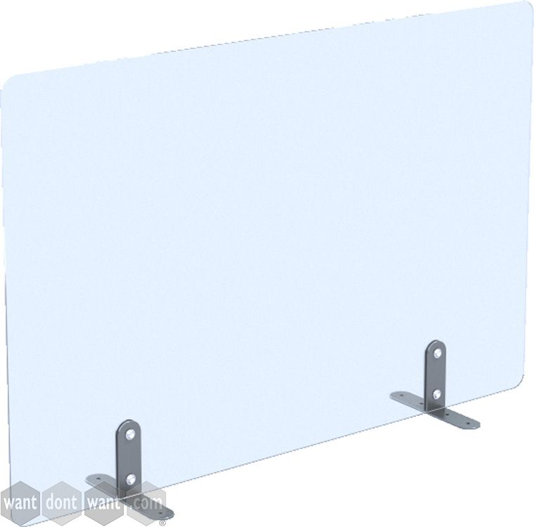 Brand new transparent acrylic desk protection screens. The perfect solution for bench desk workers post lockdown