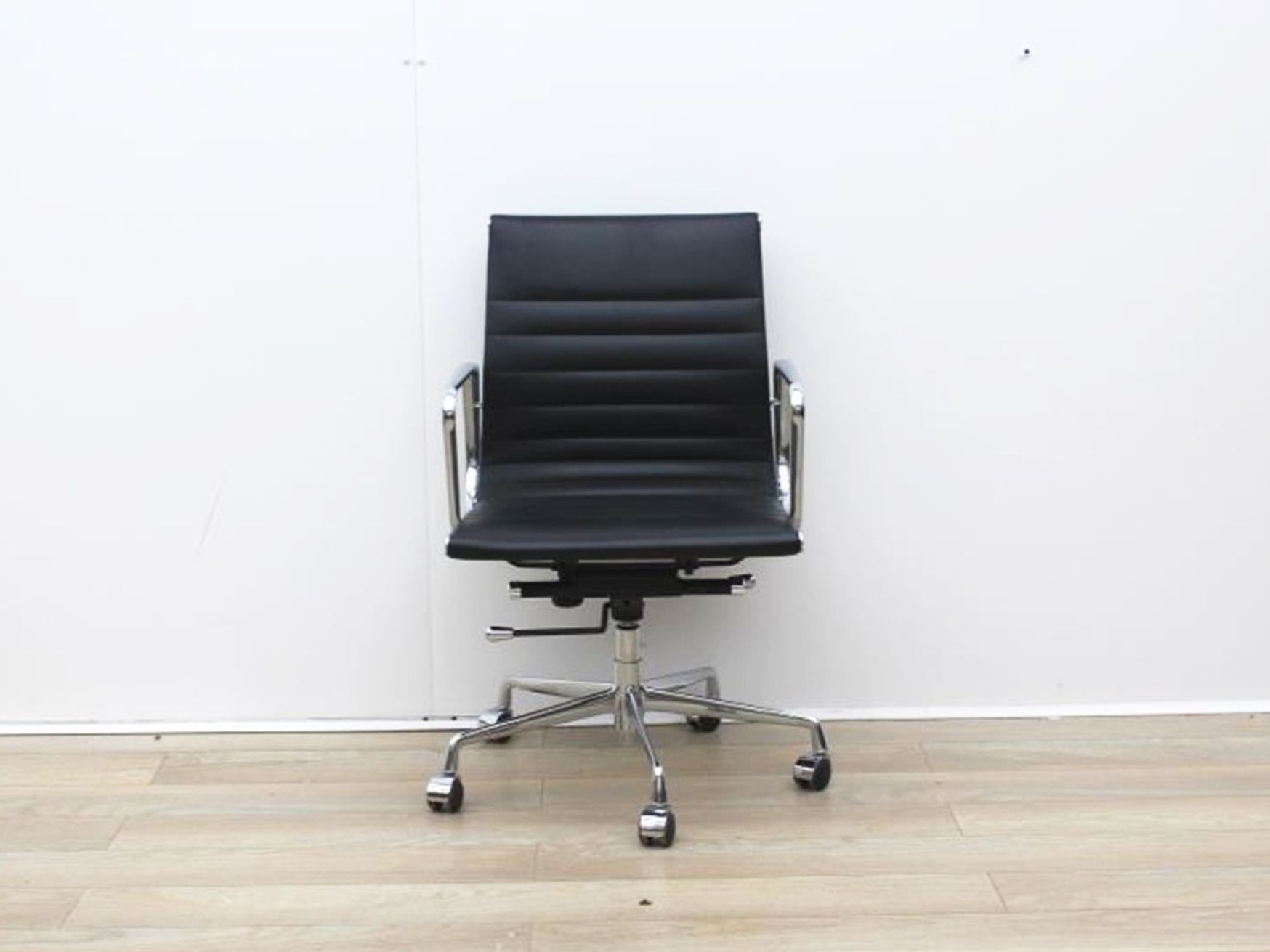 Used Black Leather Elite Executive Chair