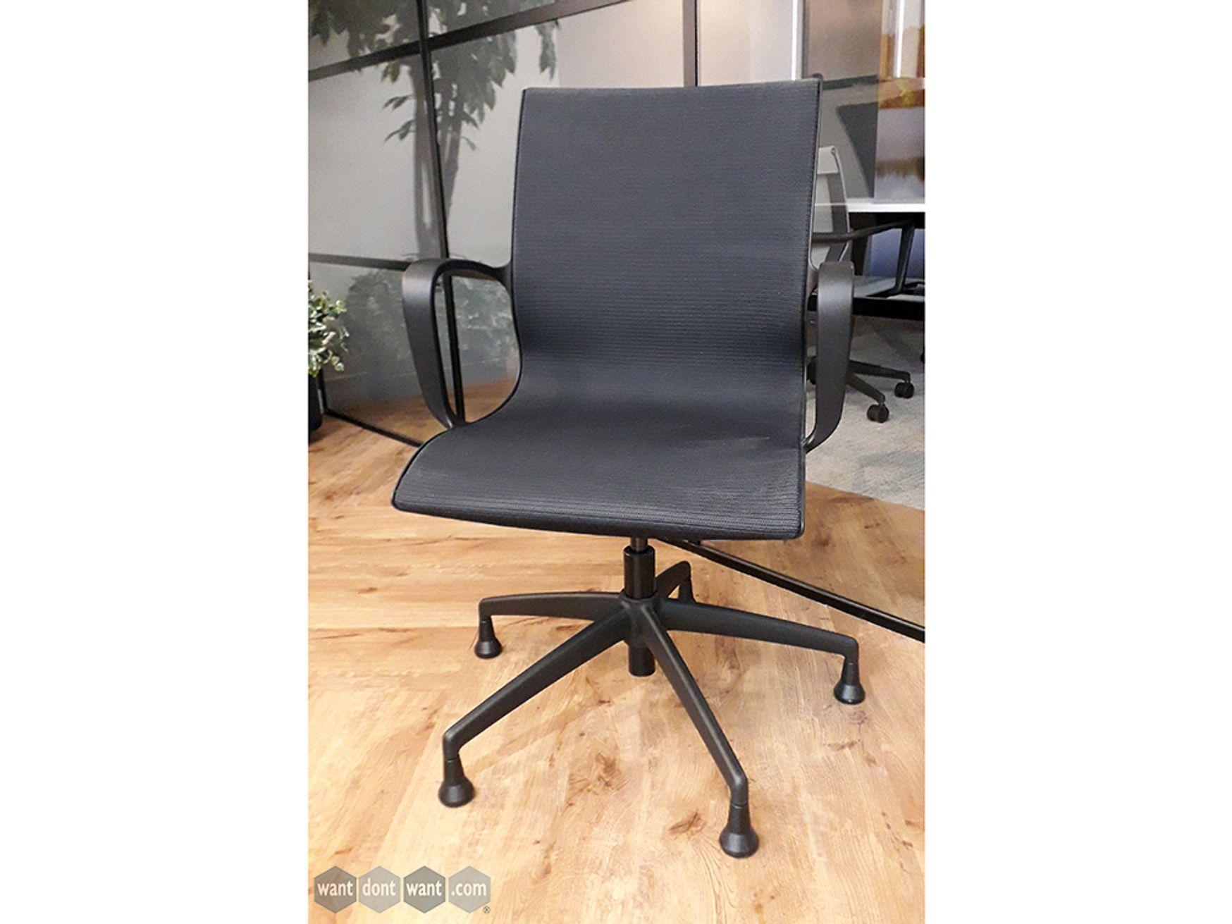 Used Boss Design Kara chair on glides