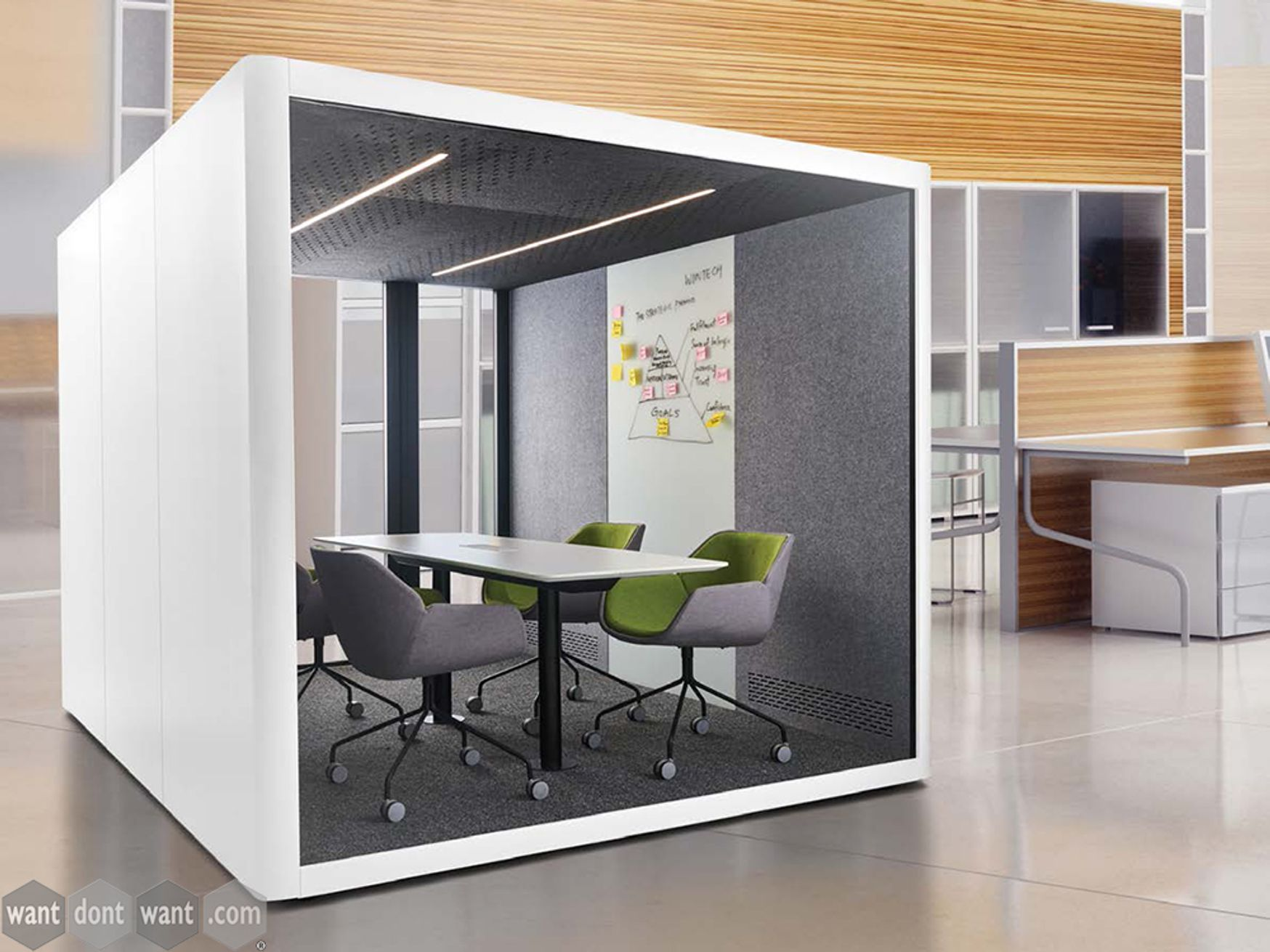 Brand New 6-Person Acoustic Meeting Pod