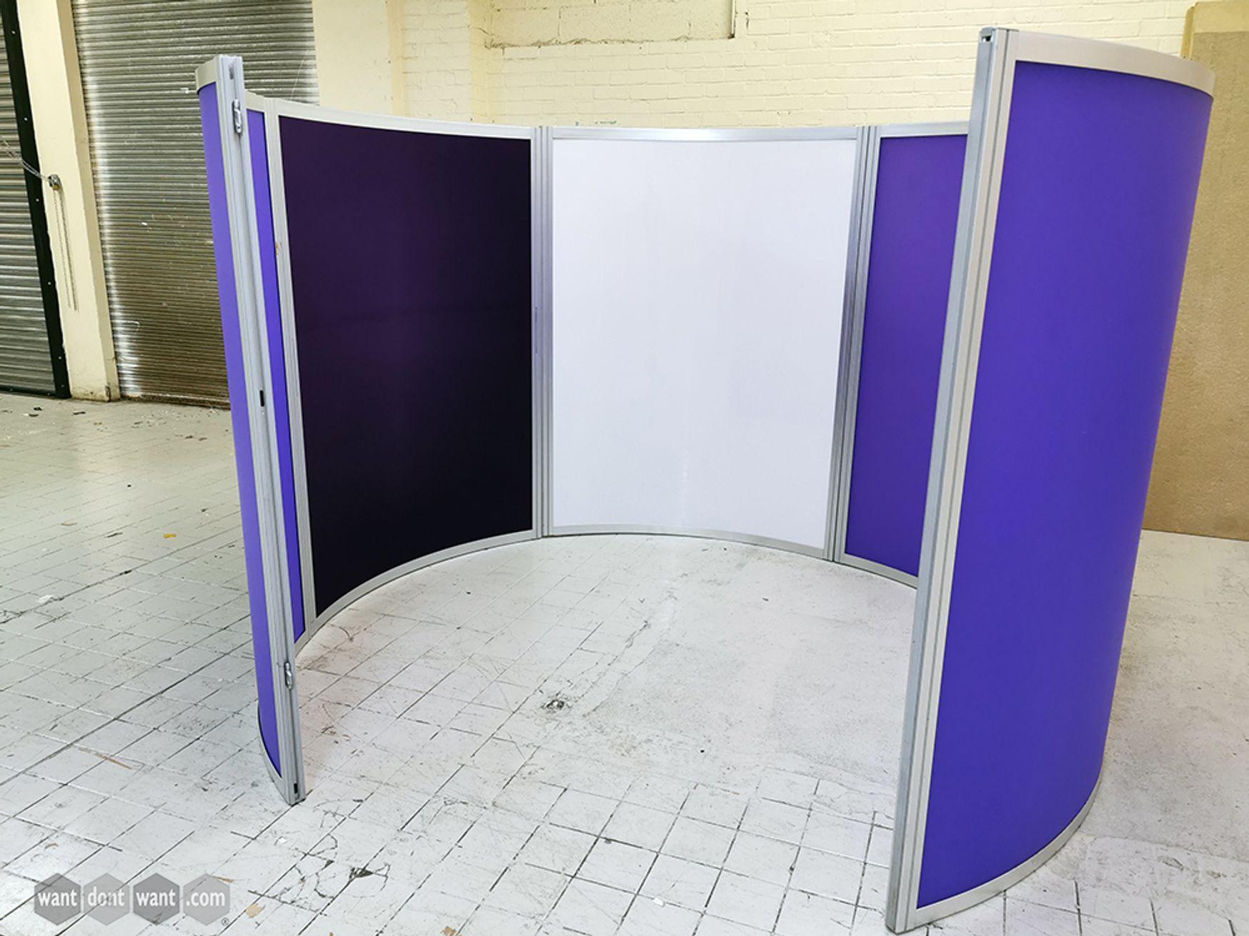 Used Orangebox 'Cove' C Shaped Screen System