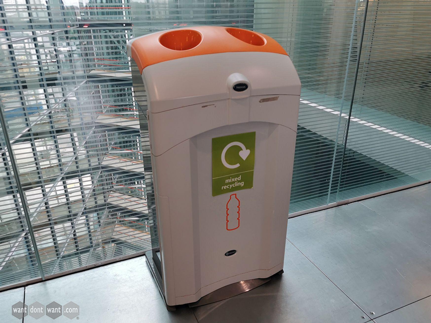 Used Nexus 100 Mixed Recycling Bins