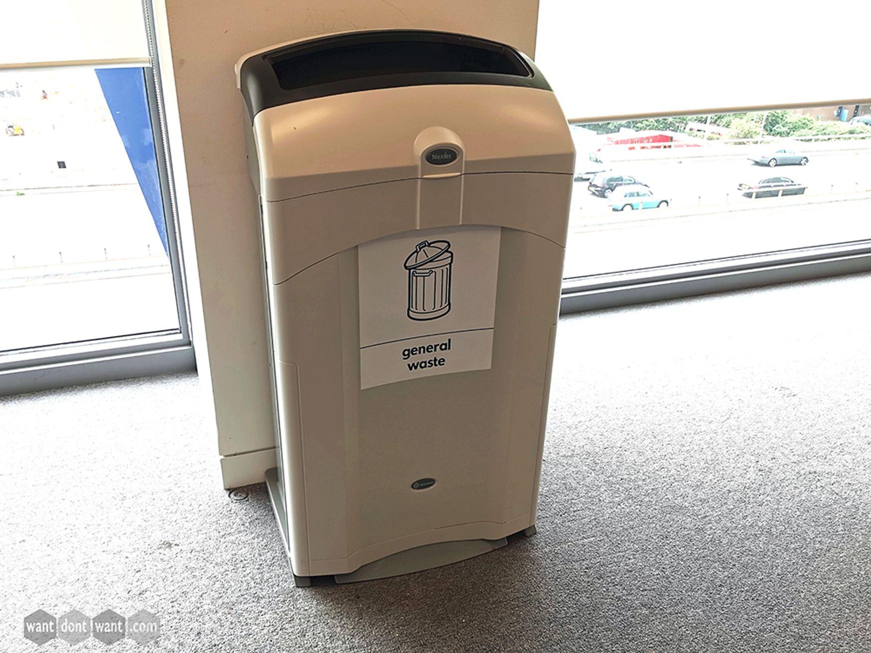 Used Nexus 100 General Waste Recycling Bins