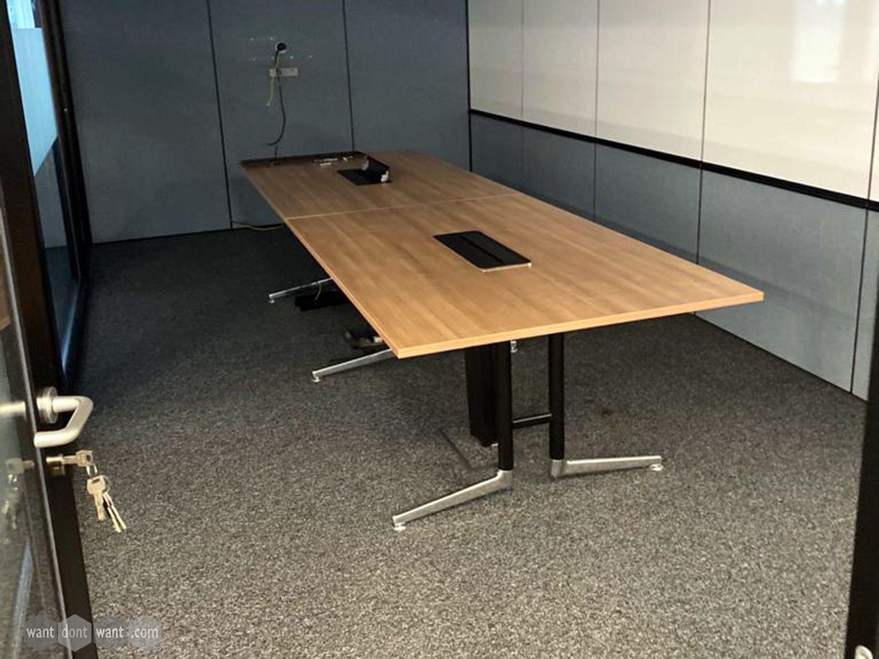 Used Senator Ad-Lib Meeting Table 3300mm x 1100mm