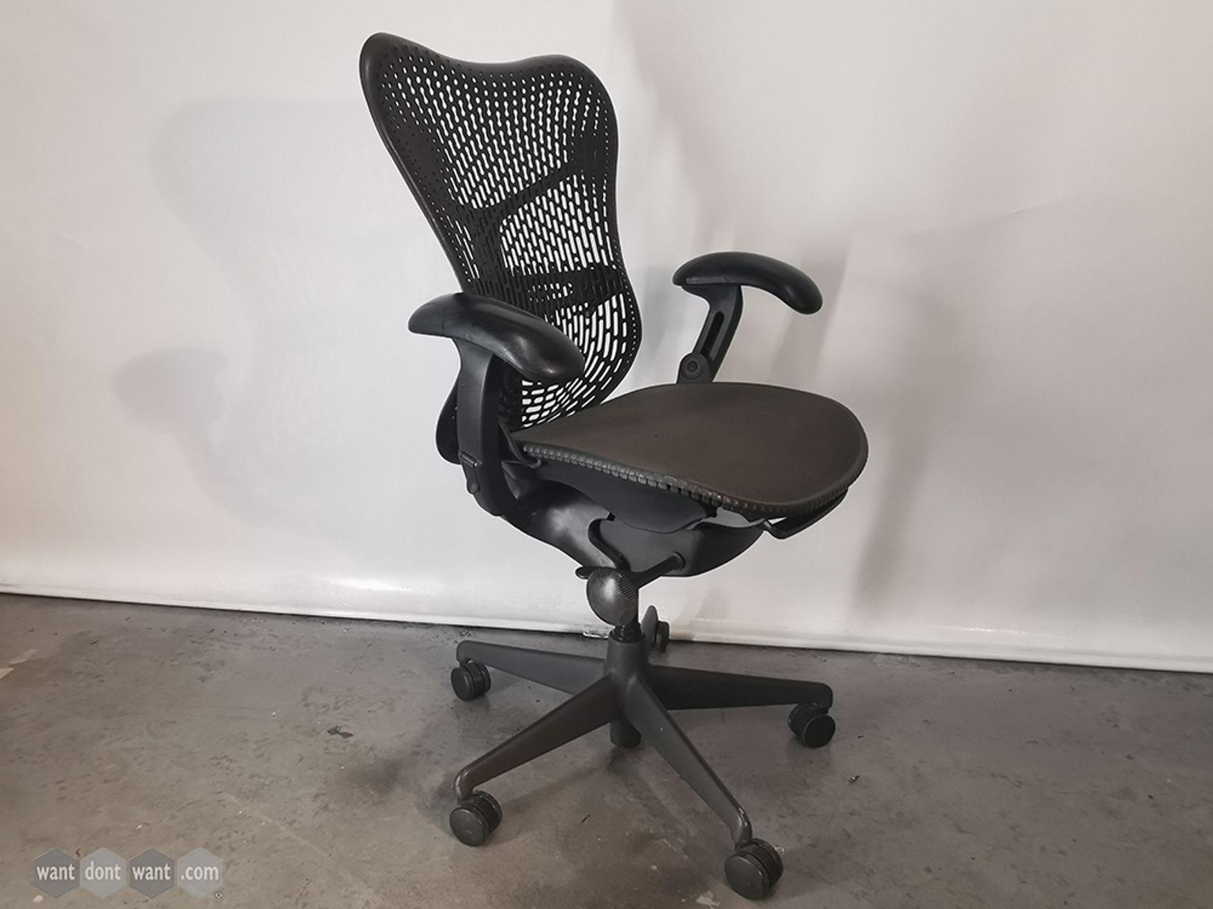 Used Herman Miller Mirra Operator Chairs