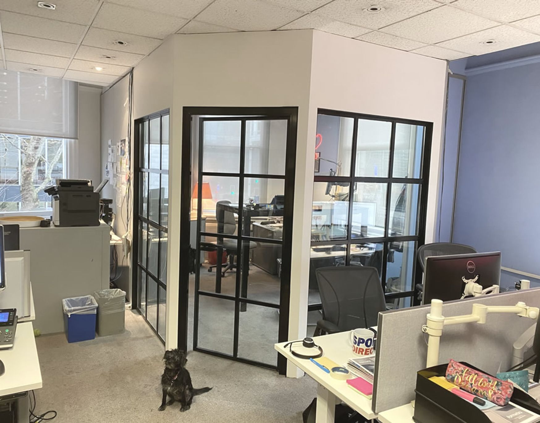 Re-invent your offices with this brand new Warehouse Style partitioning system from Want Dont Want