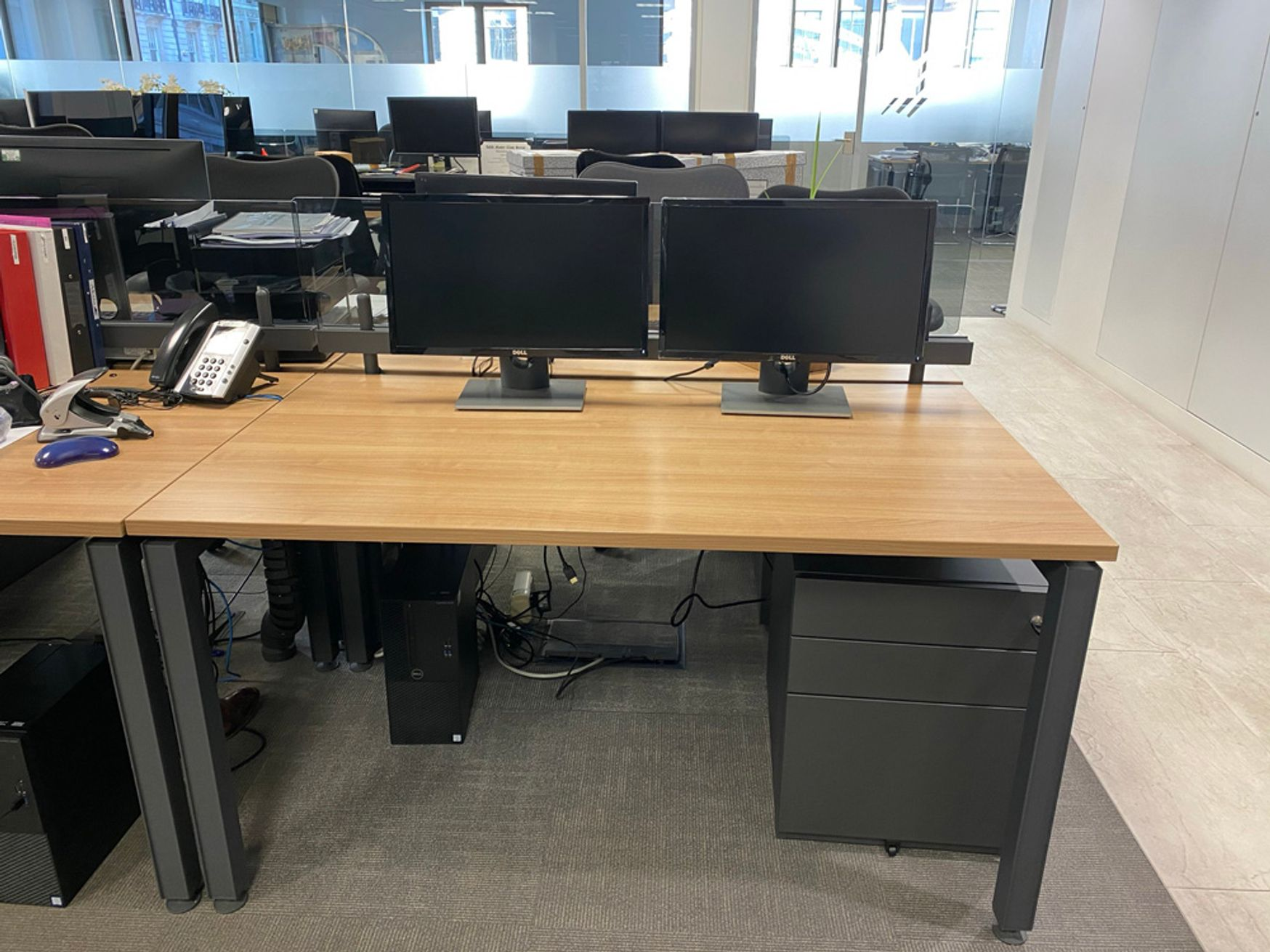 <b><i>2 Weeks To Sell. Prices Just Reduced By 50%! Herman Miller Desks and lots more!</b></i>