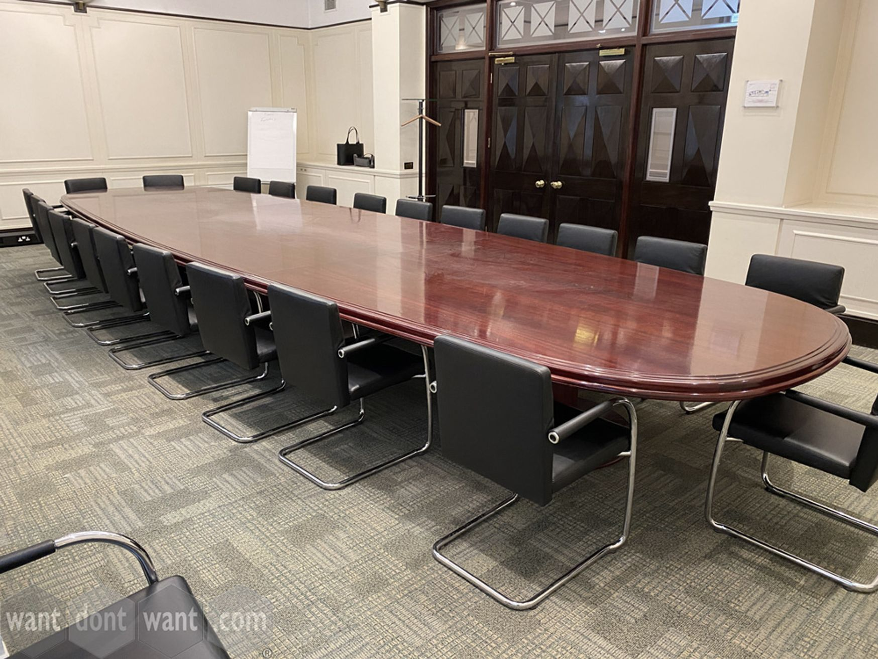 Used large boardroom table 7000mm x 2000mm