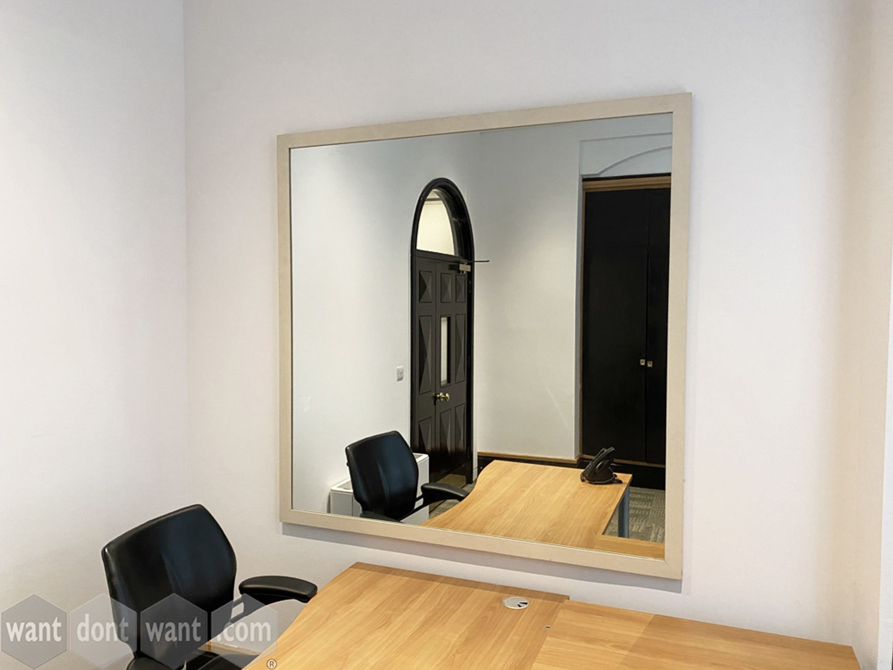 Used large square mirror - 1500mm w x 1500mm high