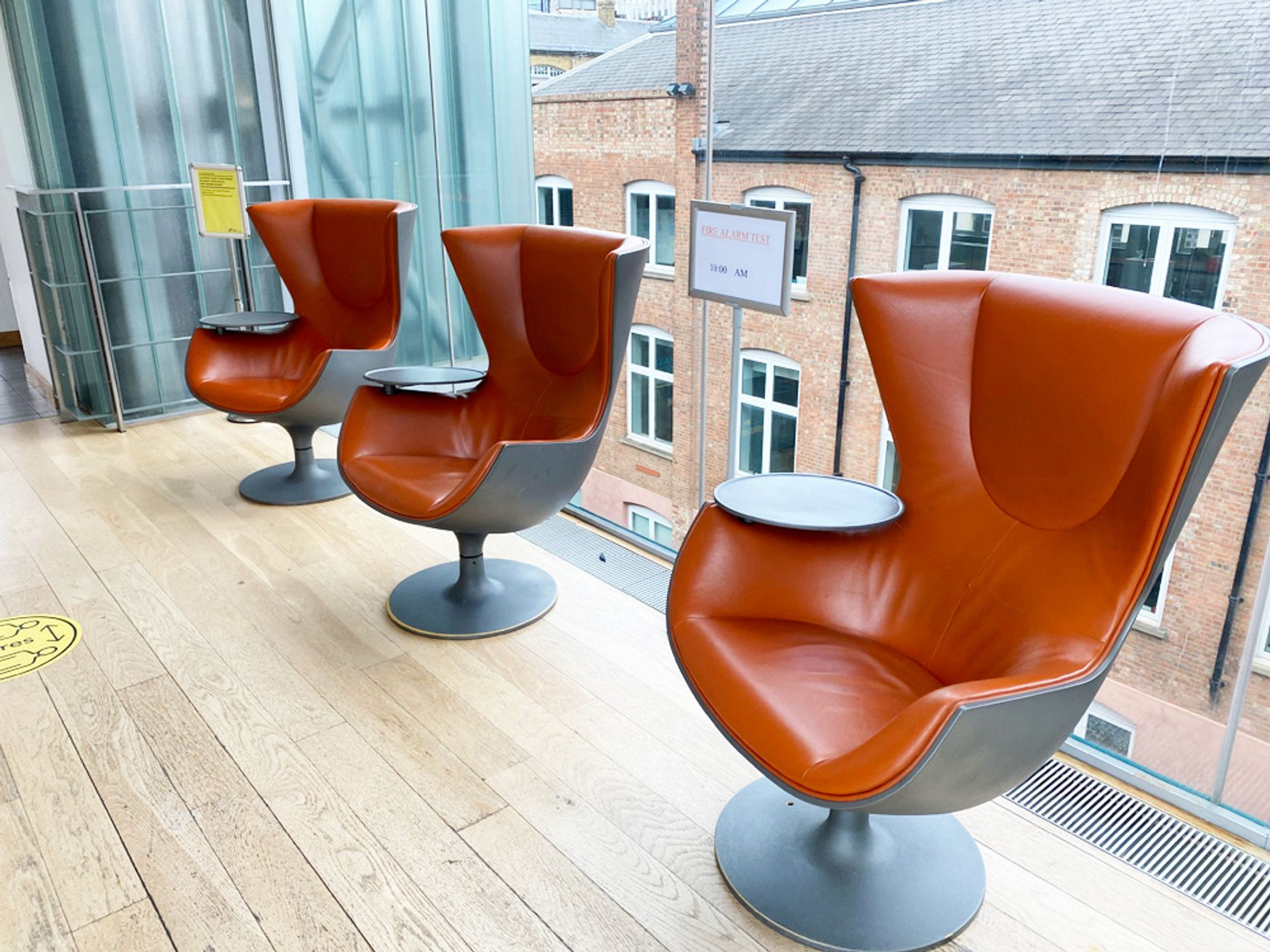 Outstanding original 'Eurostar' chairs designed specifically for Eurostar by Phillipe Starck. Manufactured by Cassina.