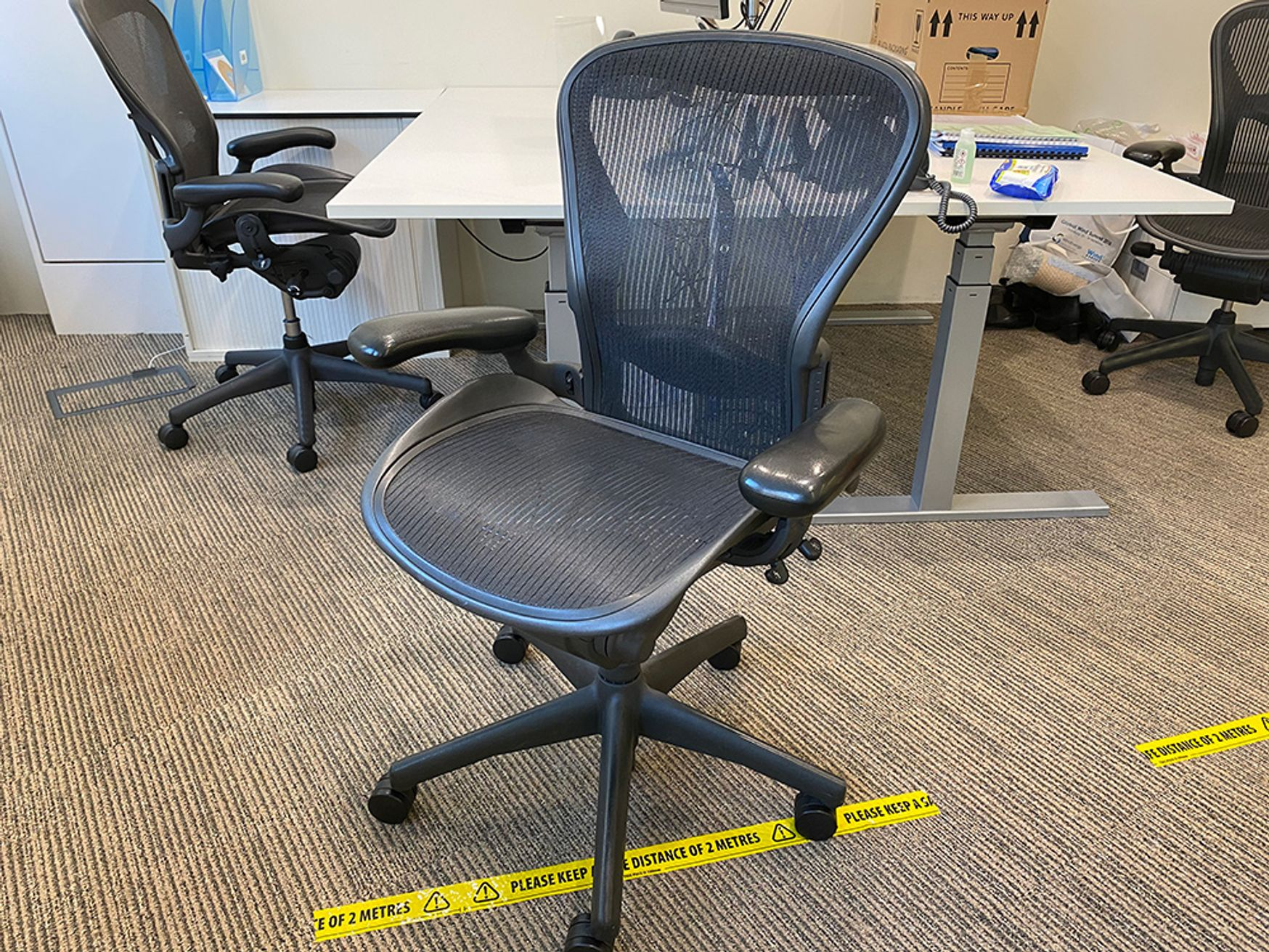 Oh yes, these iconic Aeron chairs are available now!