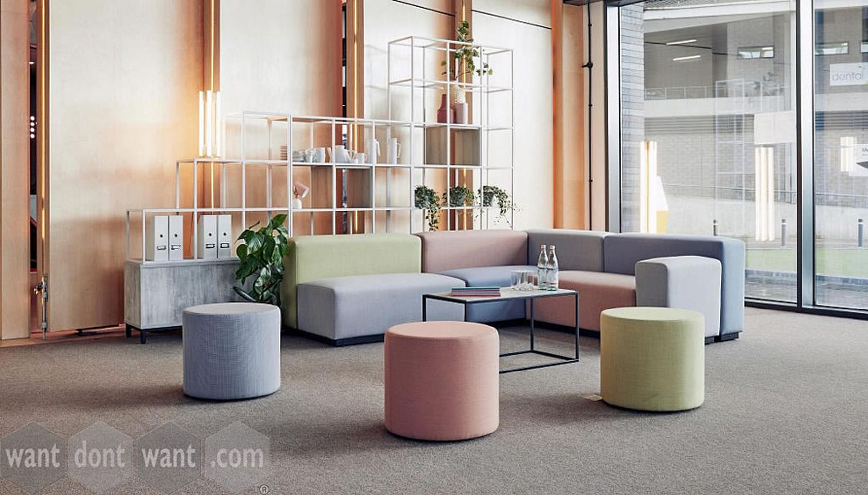 Fabulous New Range Of Modular Seating - Pastels Are Back!