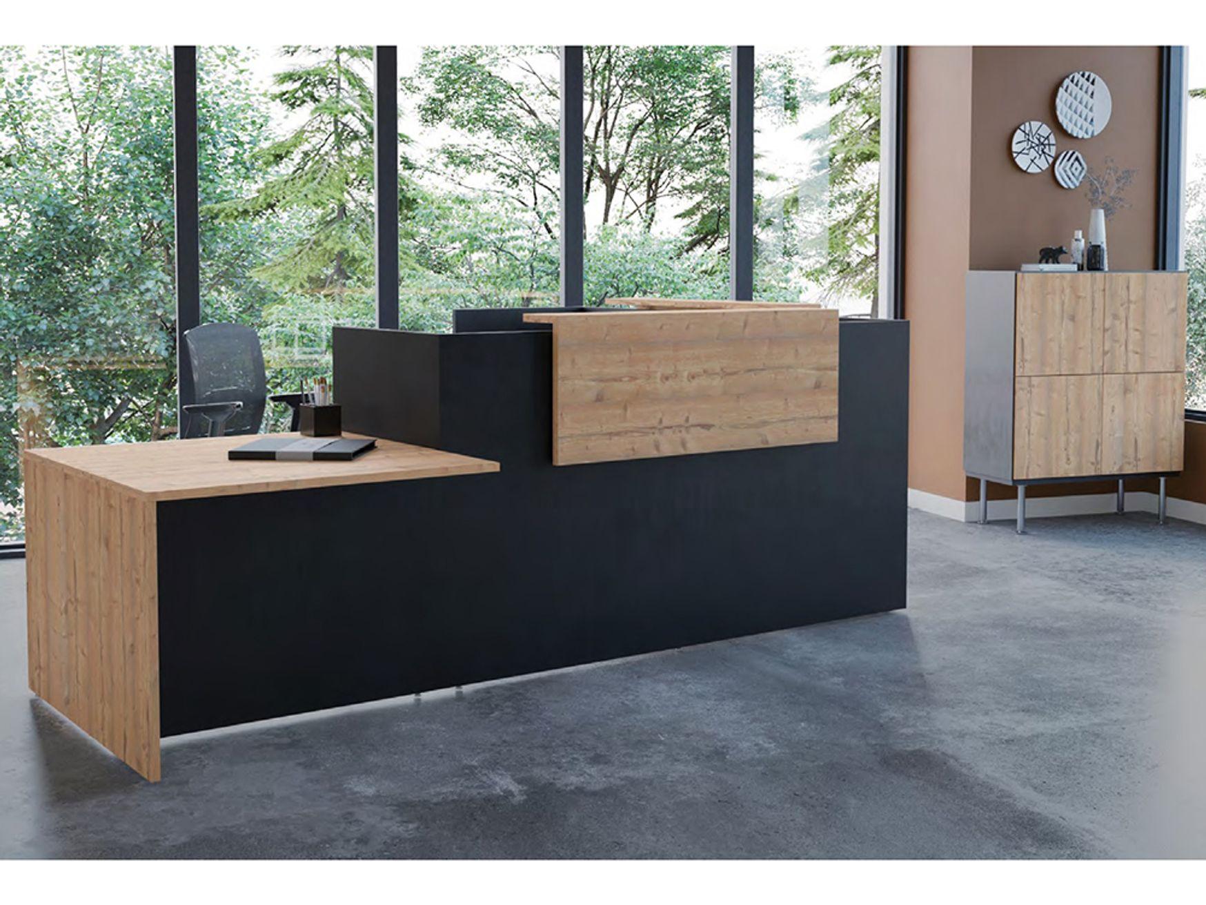 Brand New Modular Reception Desks - Choice of Size, Configuration & Finish