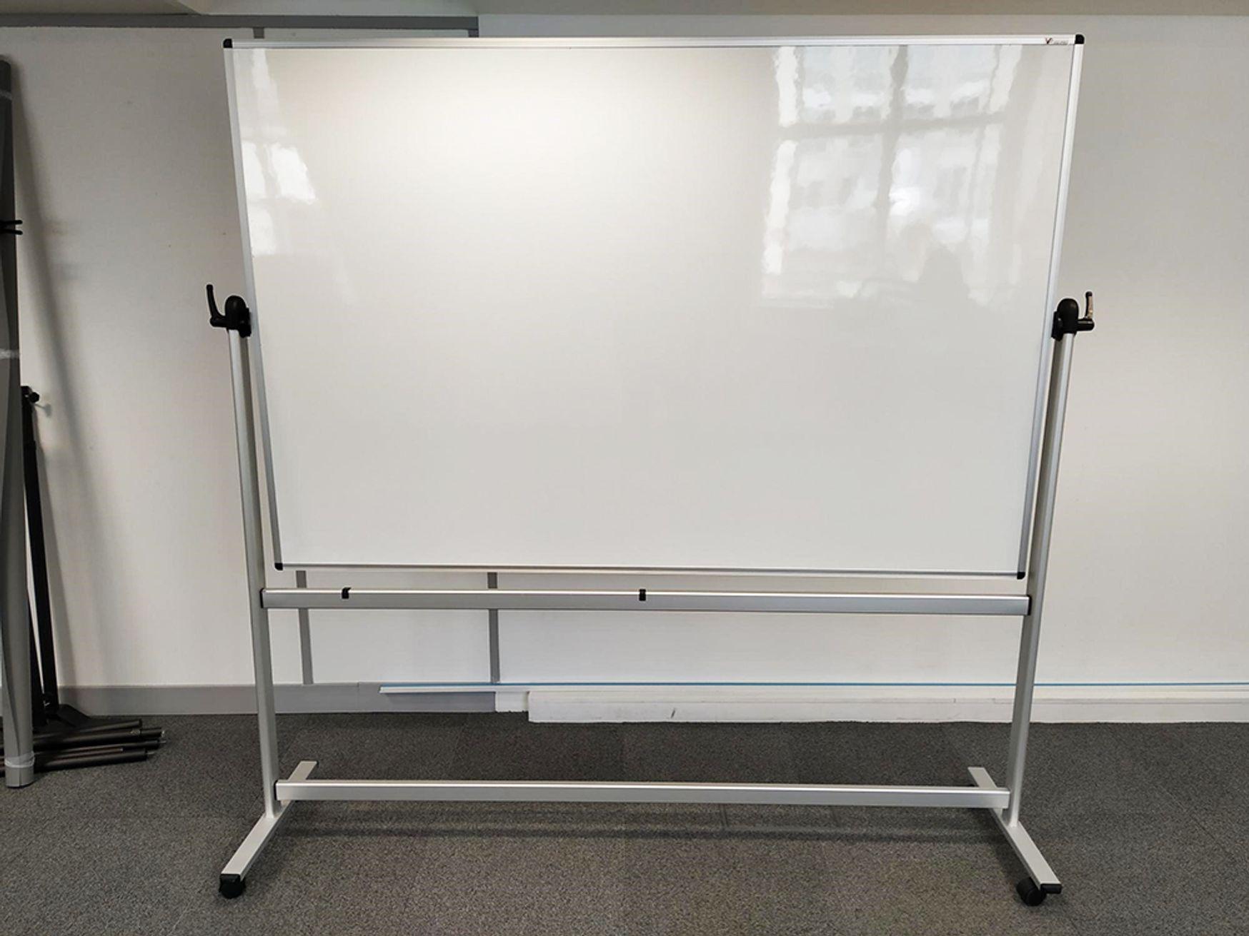 Used Whiteboard on Wheels