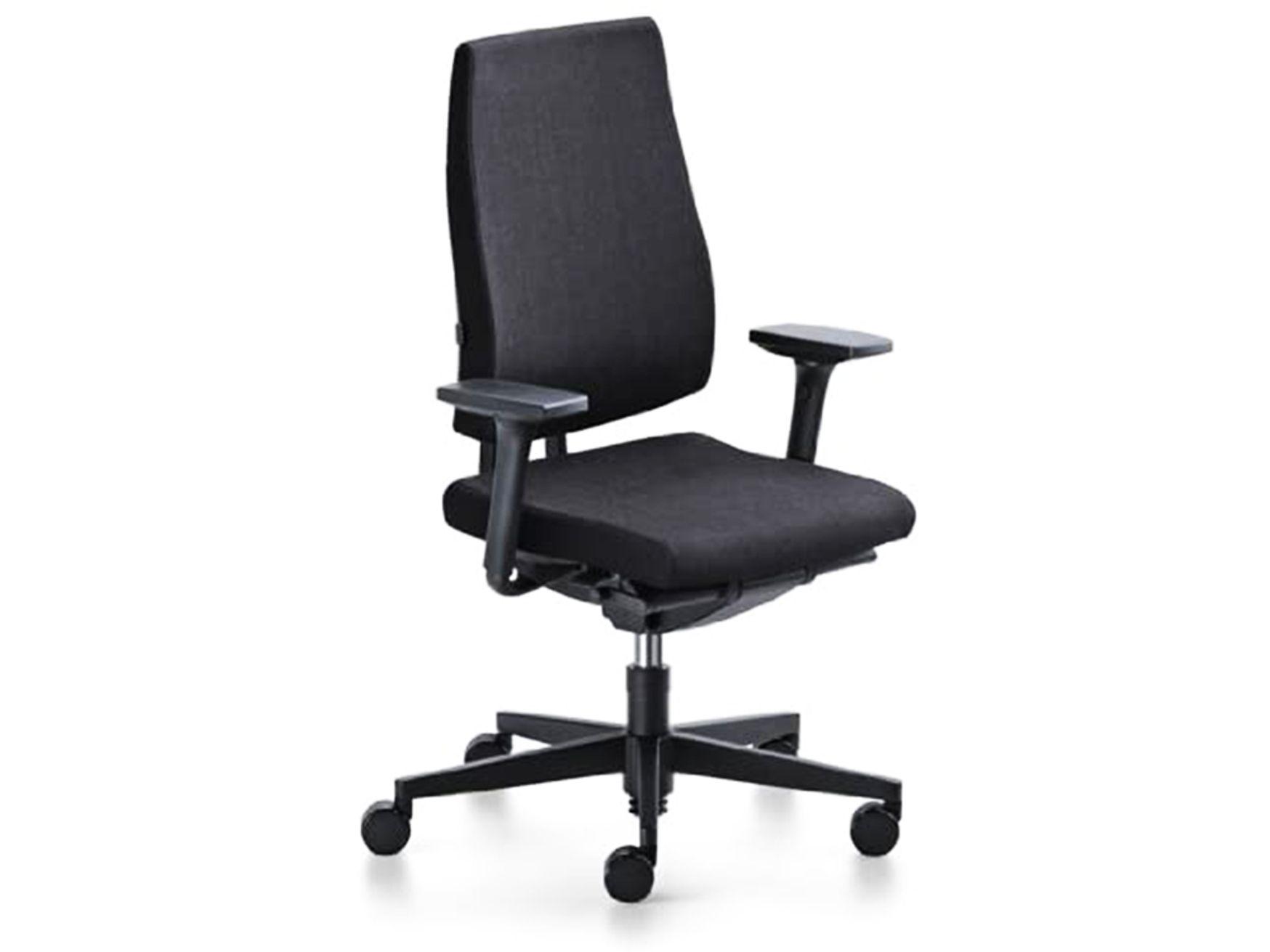 Refurbished Sedus Black Dot Operator Chairs in black