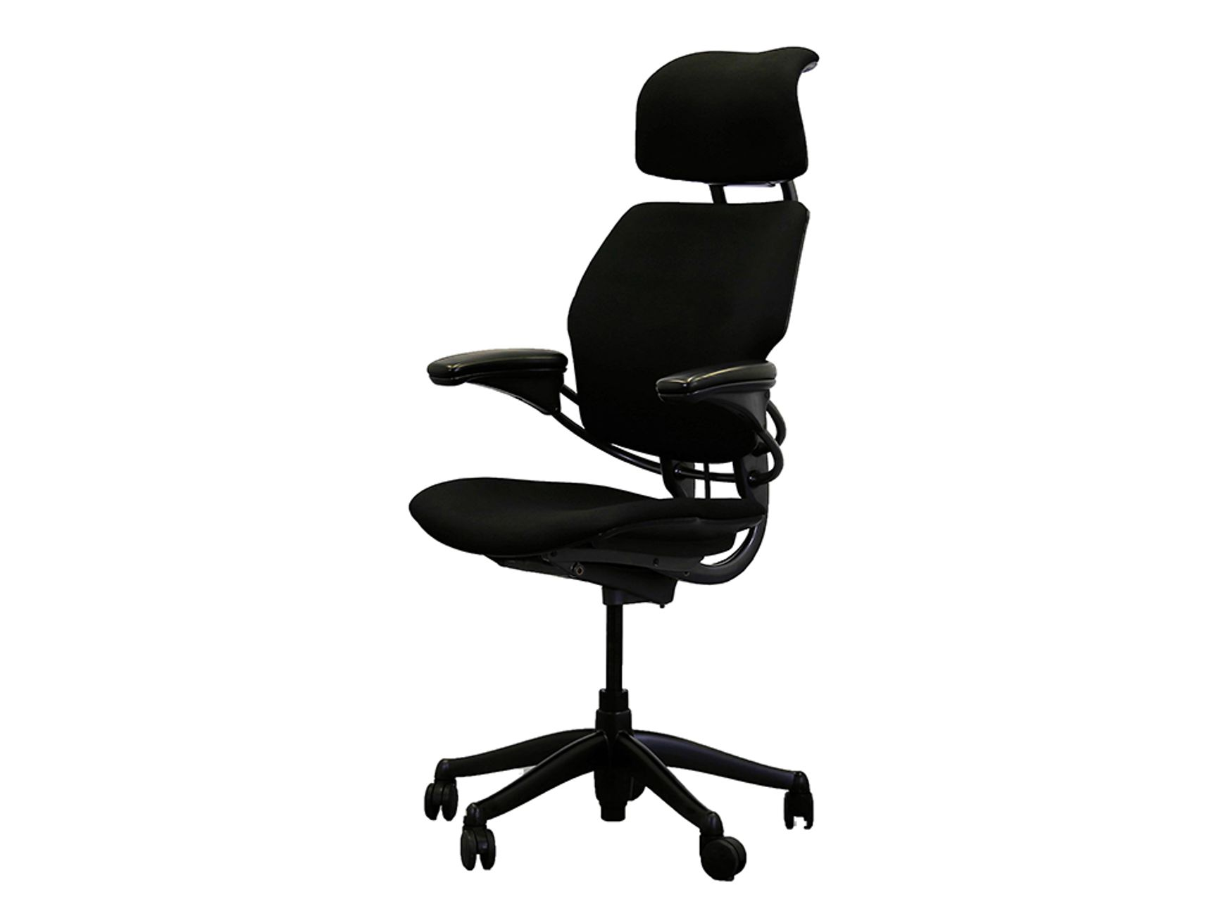 <b>48-Hour Delivery!<b/><br> Excellent refurbished High-back Humanscale 'Freedom' chairs