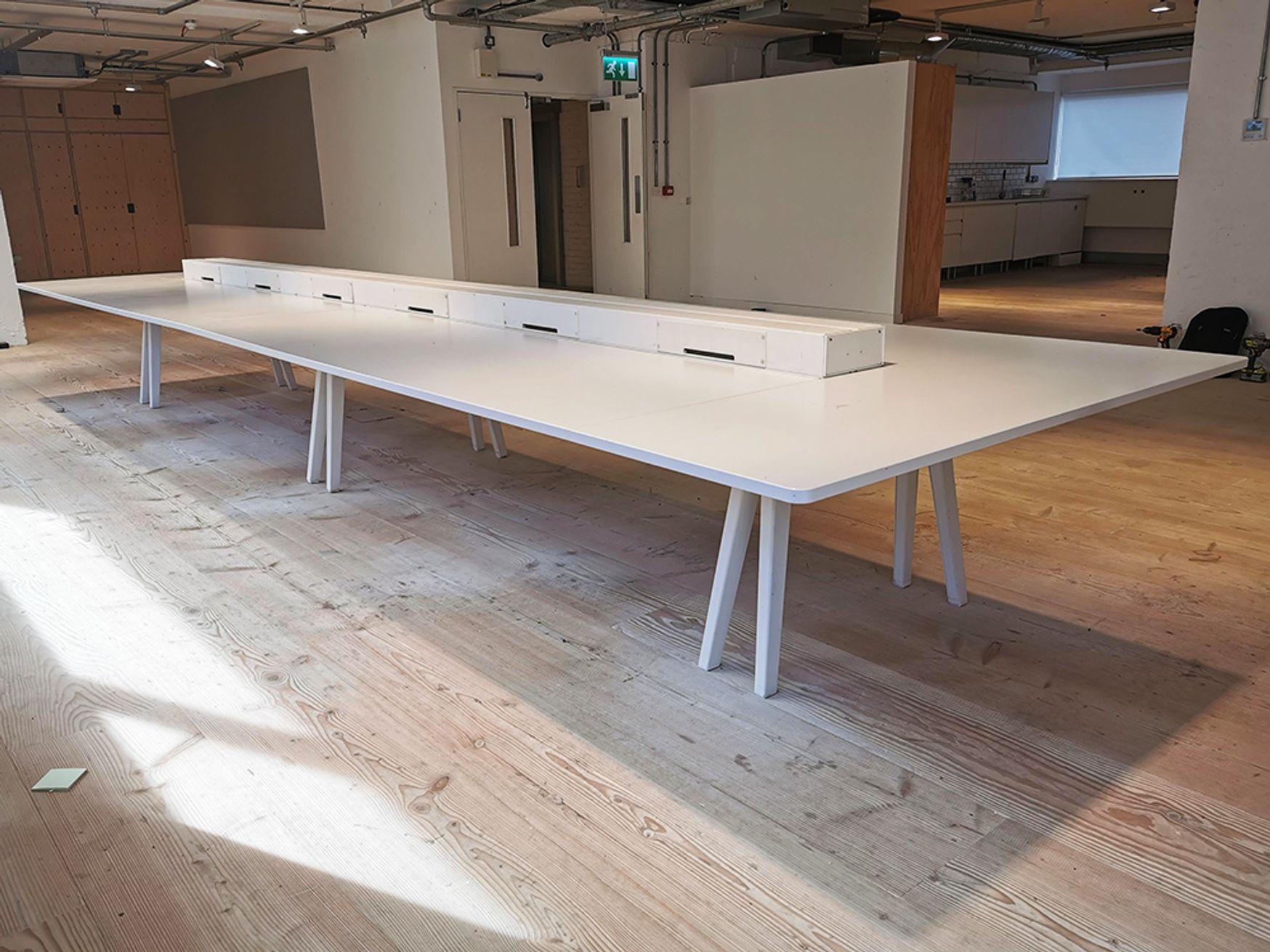 Used 6000mm Vitra Joyn Table/Desk