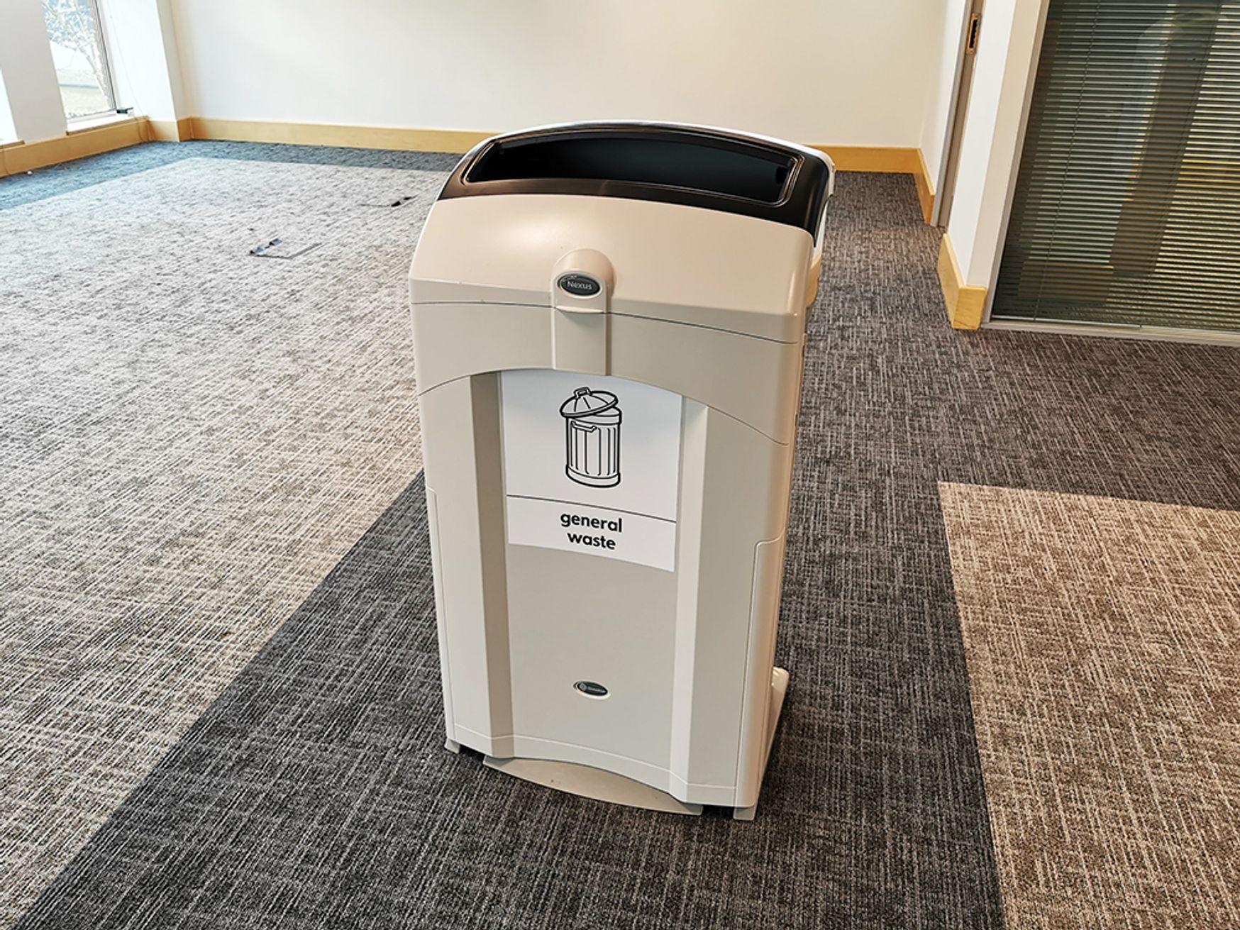 Used Nexus 100 General Waste Bin