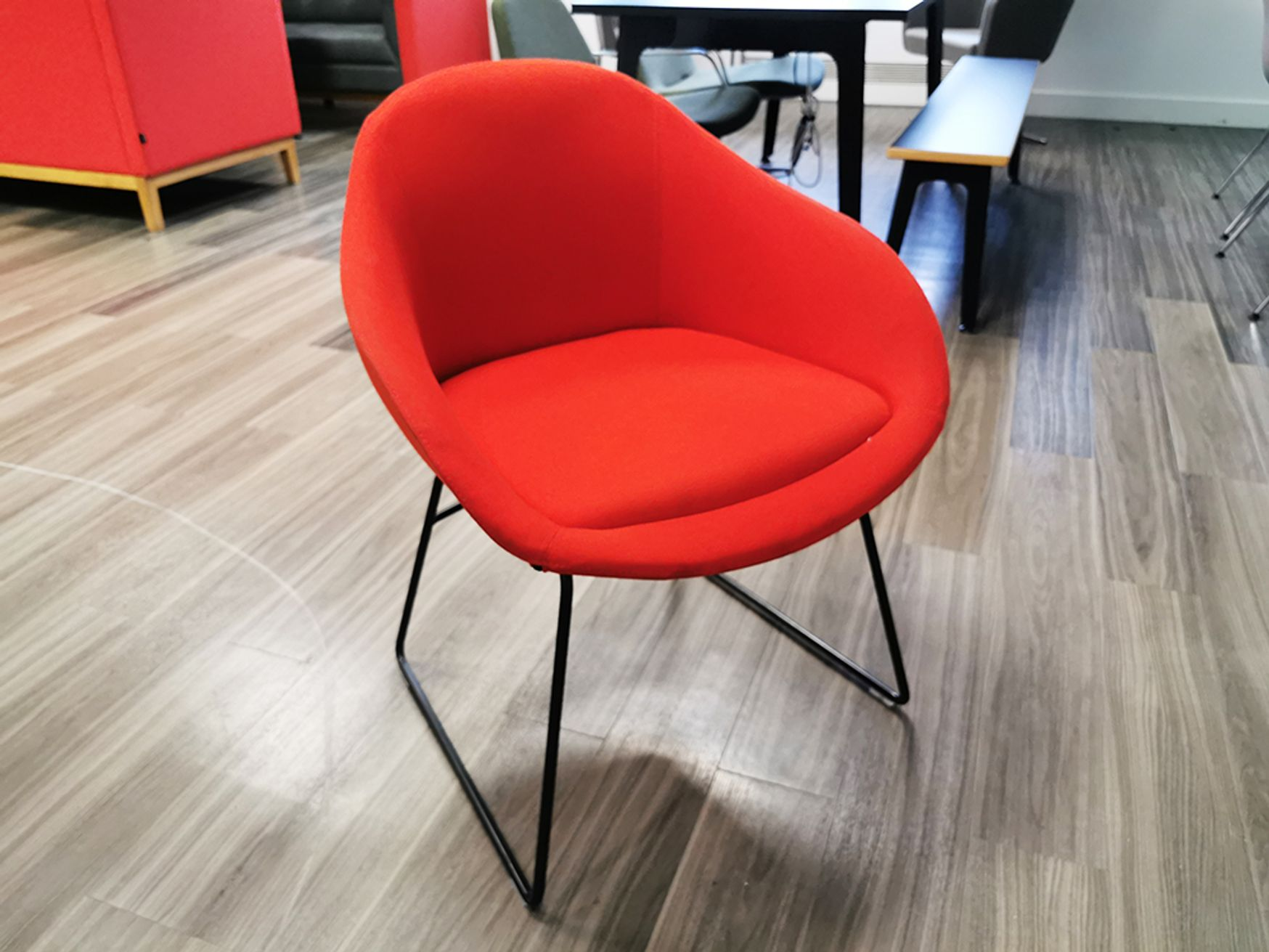 Used Naughtone 'Always' Reception Chair