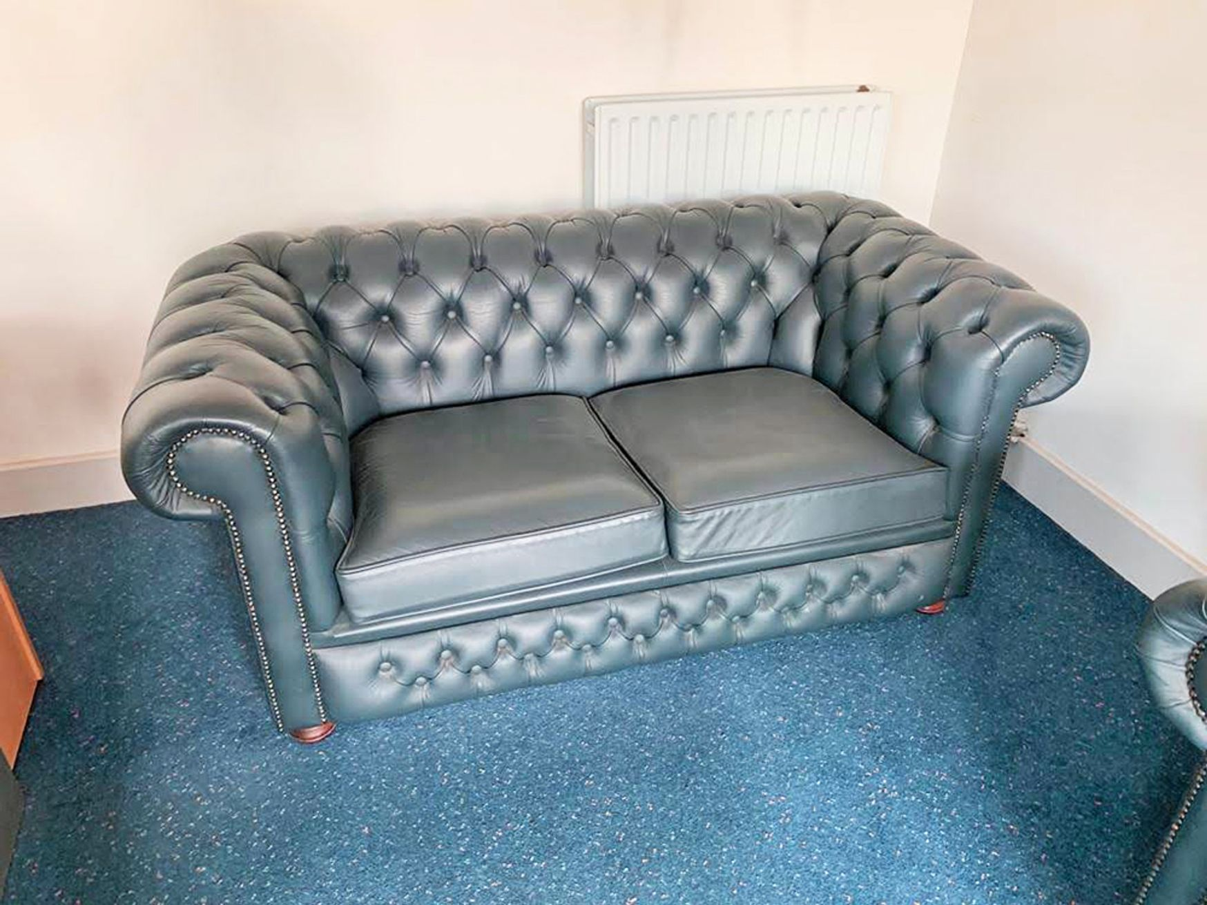 Used Chesterfield Style 2 Seater Sofa