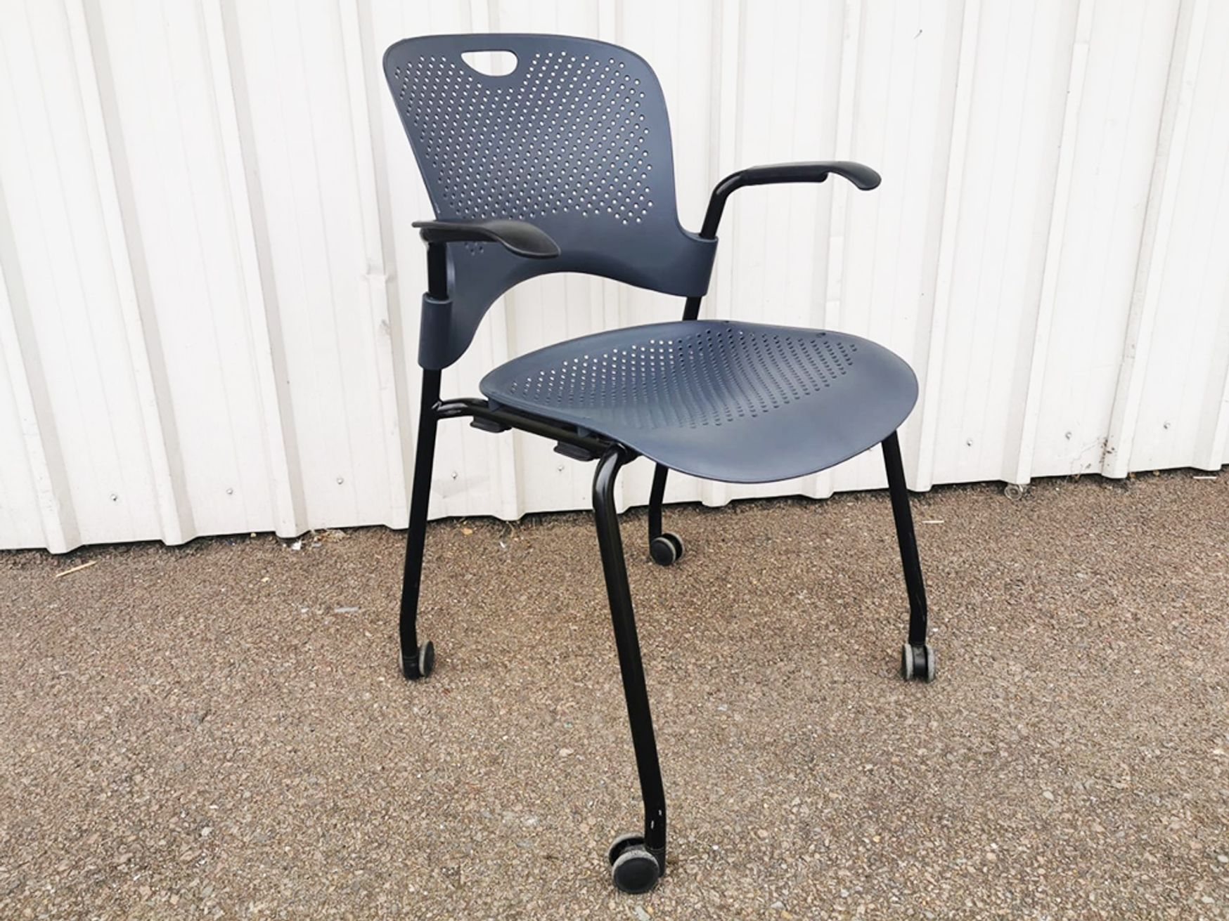 Used Herman Miller Grey Caper Chair with Arms