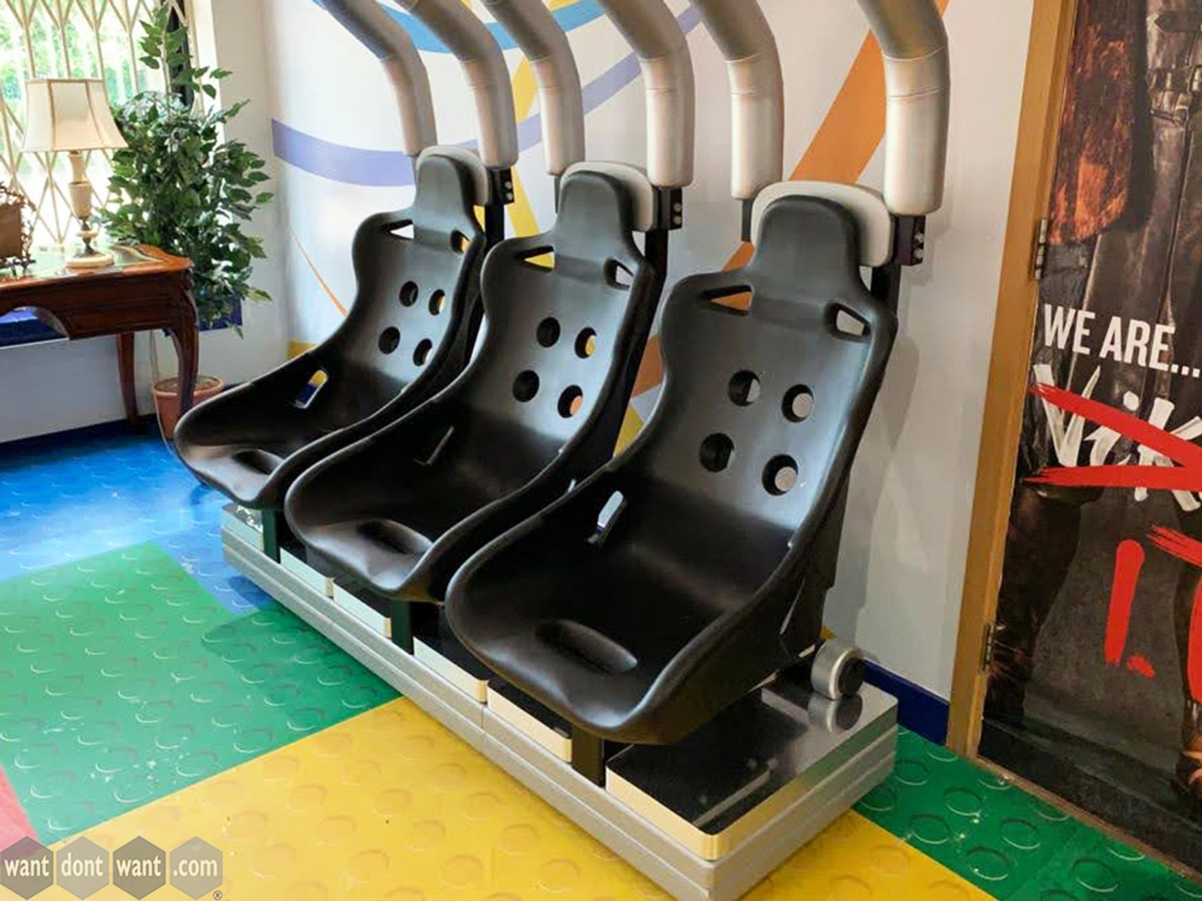Used Rollercoaster Style Reception Seating From Chessington