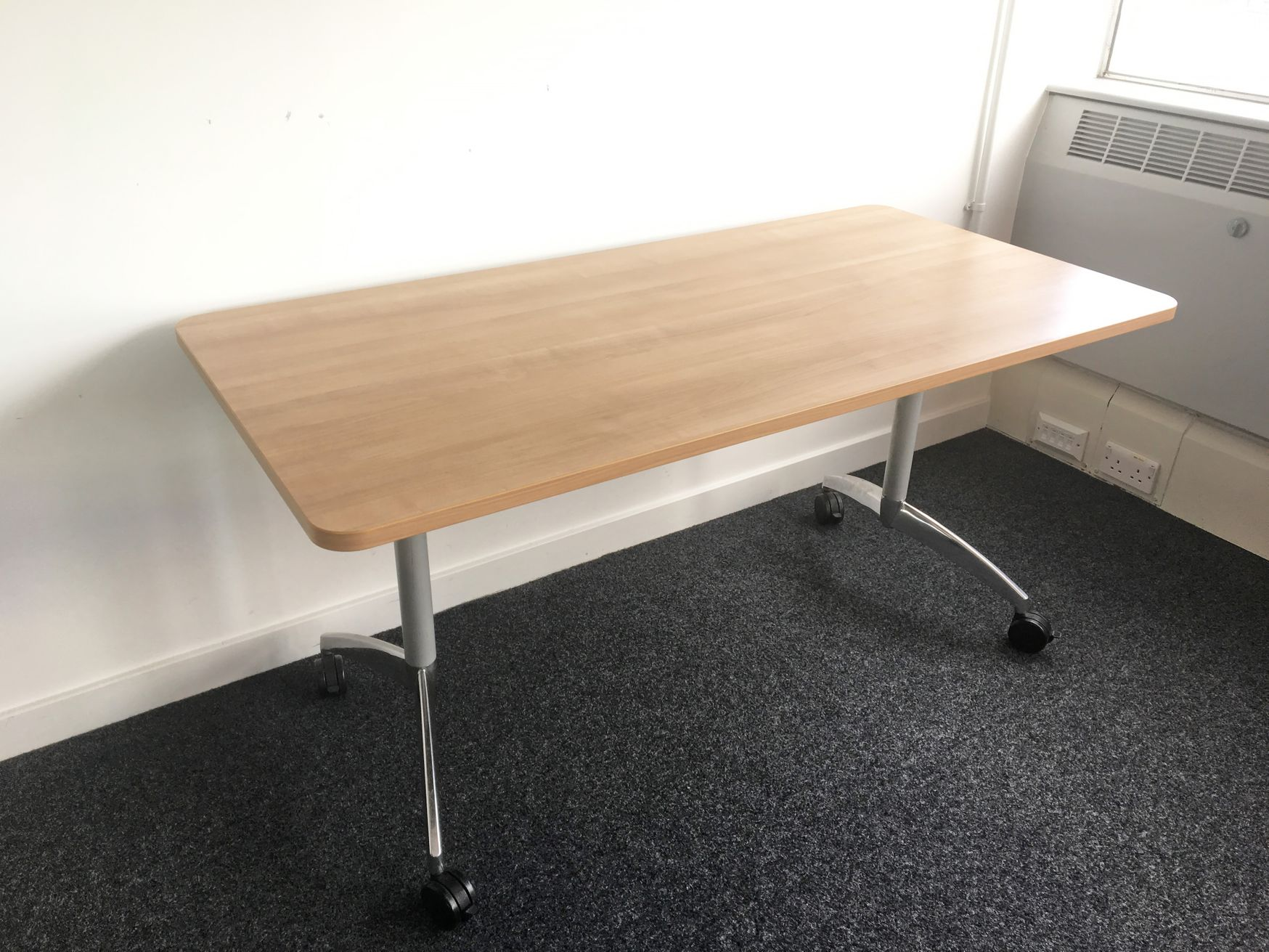 1500mm Senator 'Flight' Flip-top Folding Office Boardroom/Conference Tables
