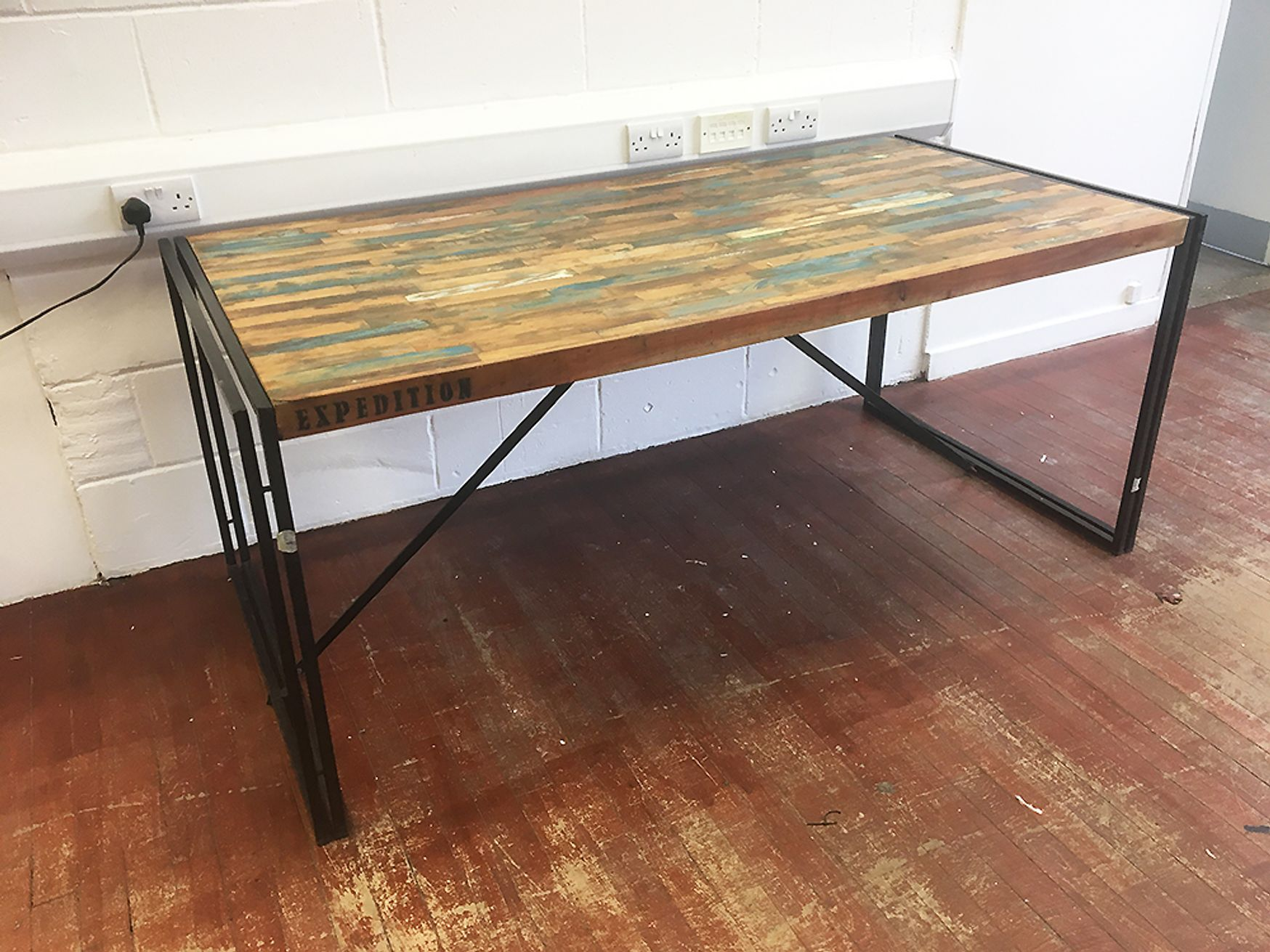 Used 1800mm Rustic Style Urban Desks/Breakout Tables
