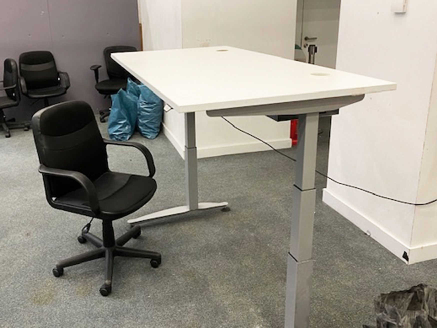 Used 1500mm Electric Sit Stand Height Adjustable Desks