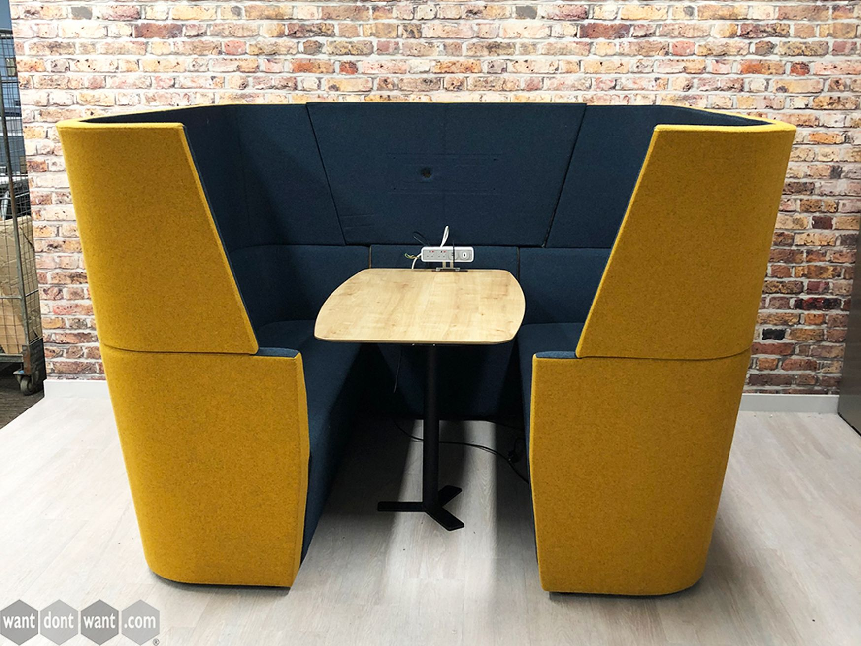 Used Orangebox 'Away From The Desk' Enclosed Meeting Booth