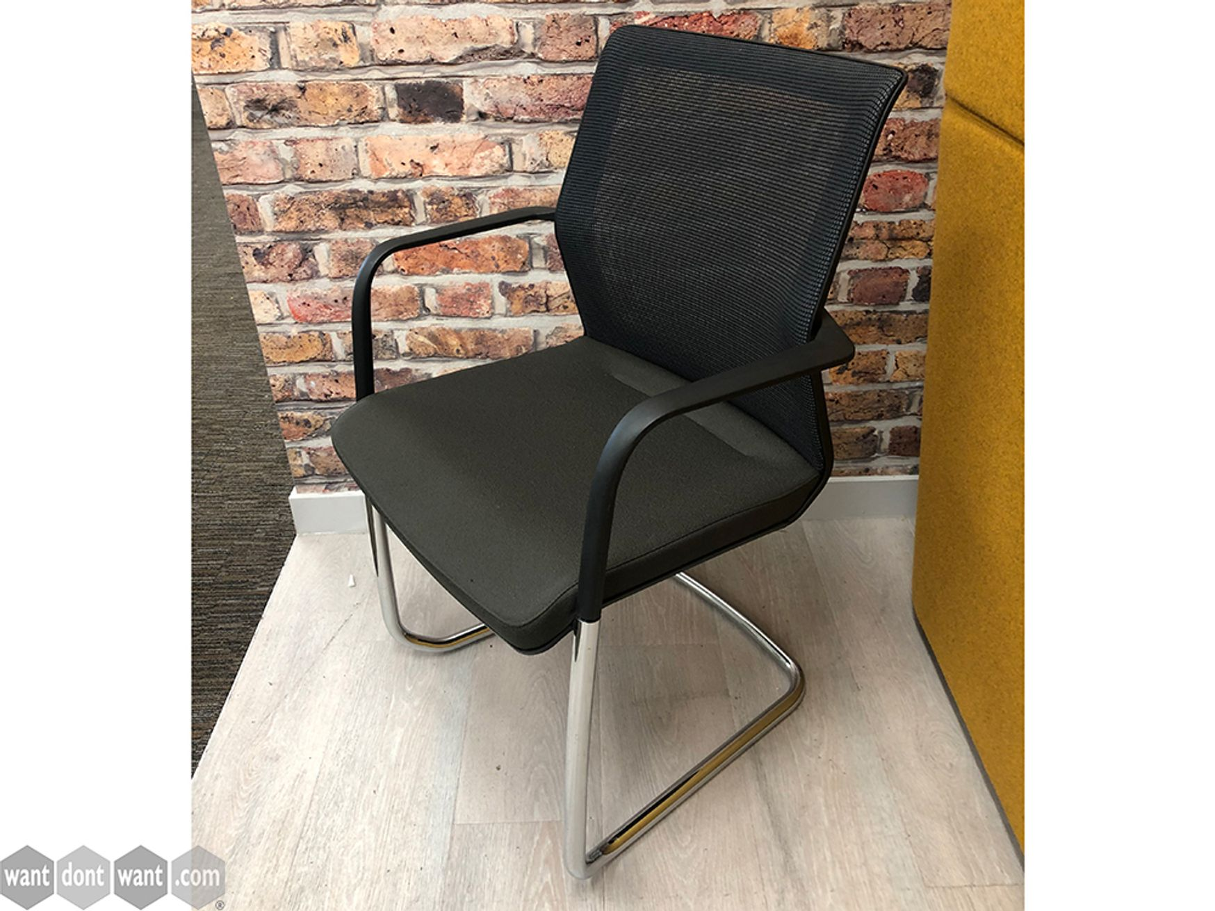 Used Orangebox 'Workday' Mesh Back Cantilever Meeting Chairs