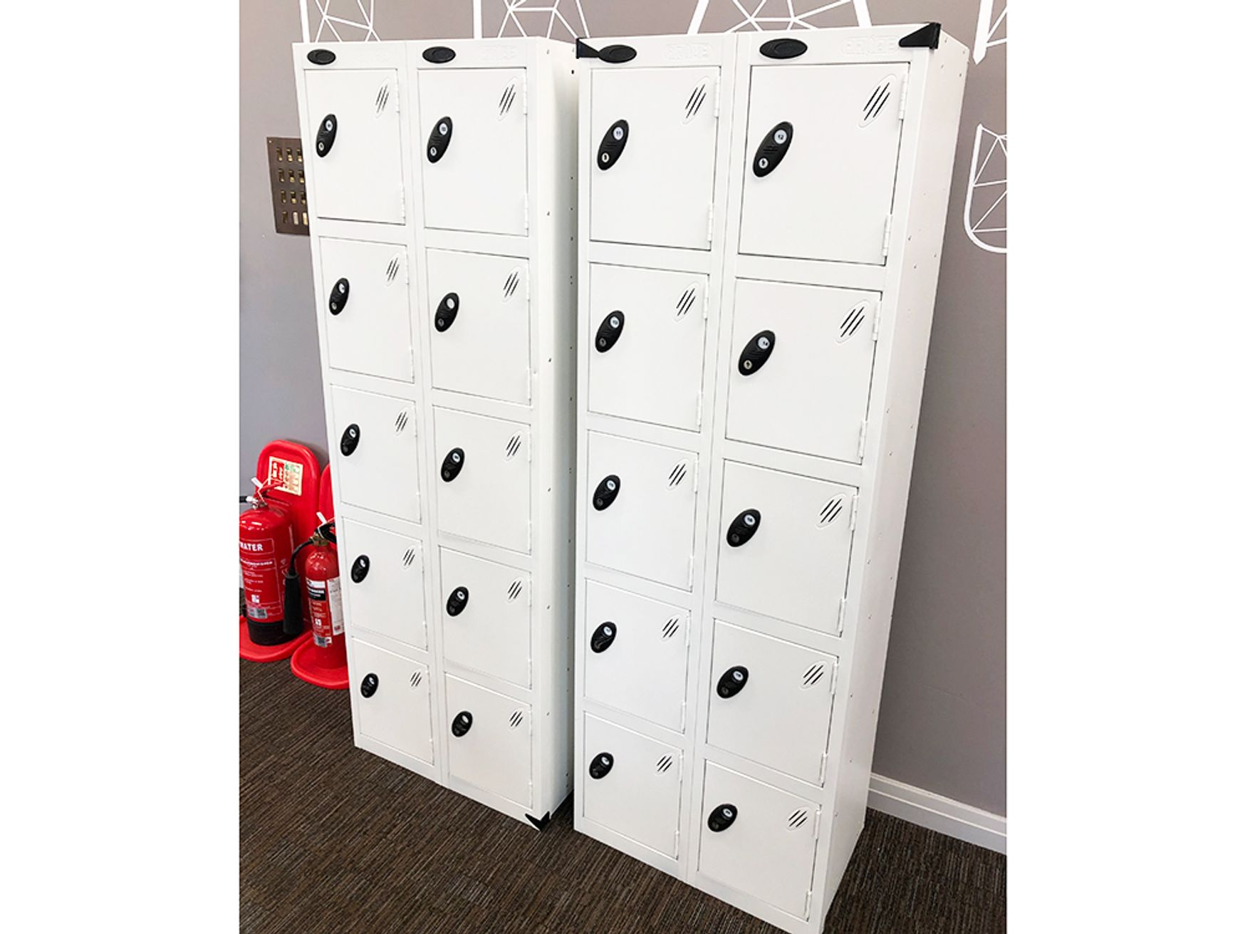 Used Probe 10 Door Steel Lockers