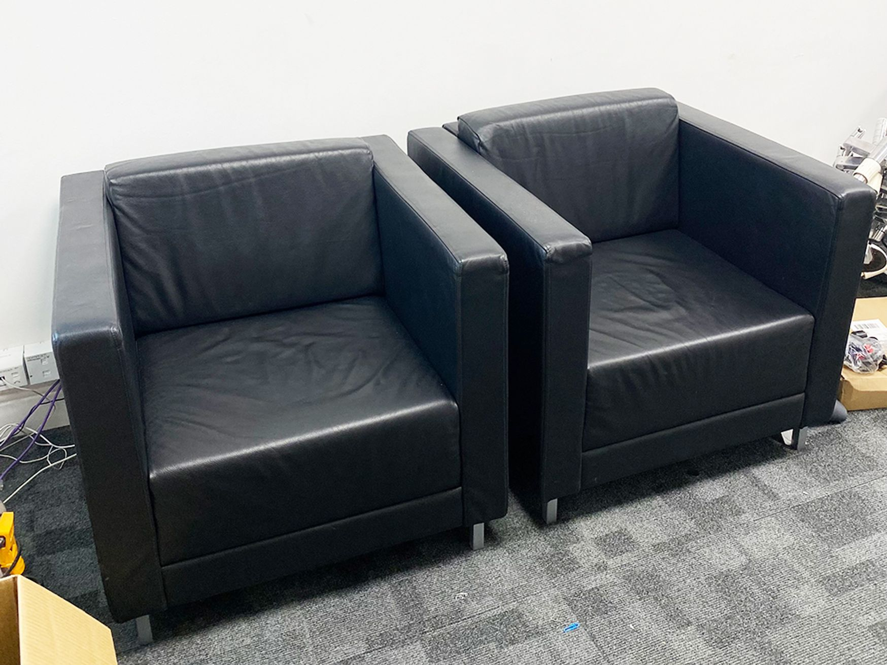 Used Set of 2 Armchairs as per photo