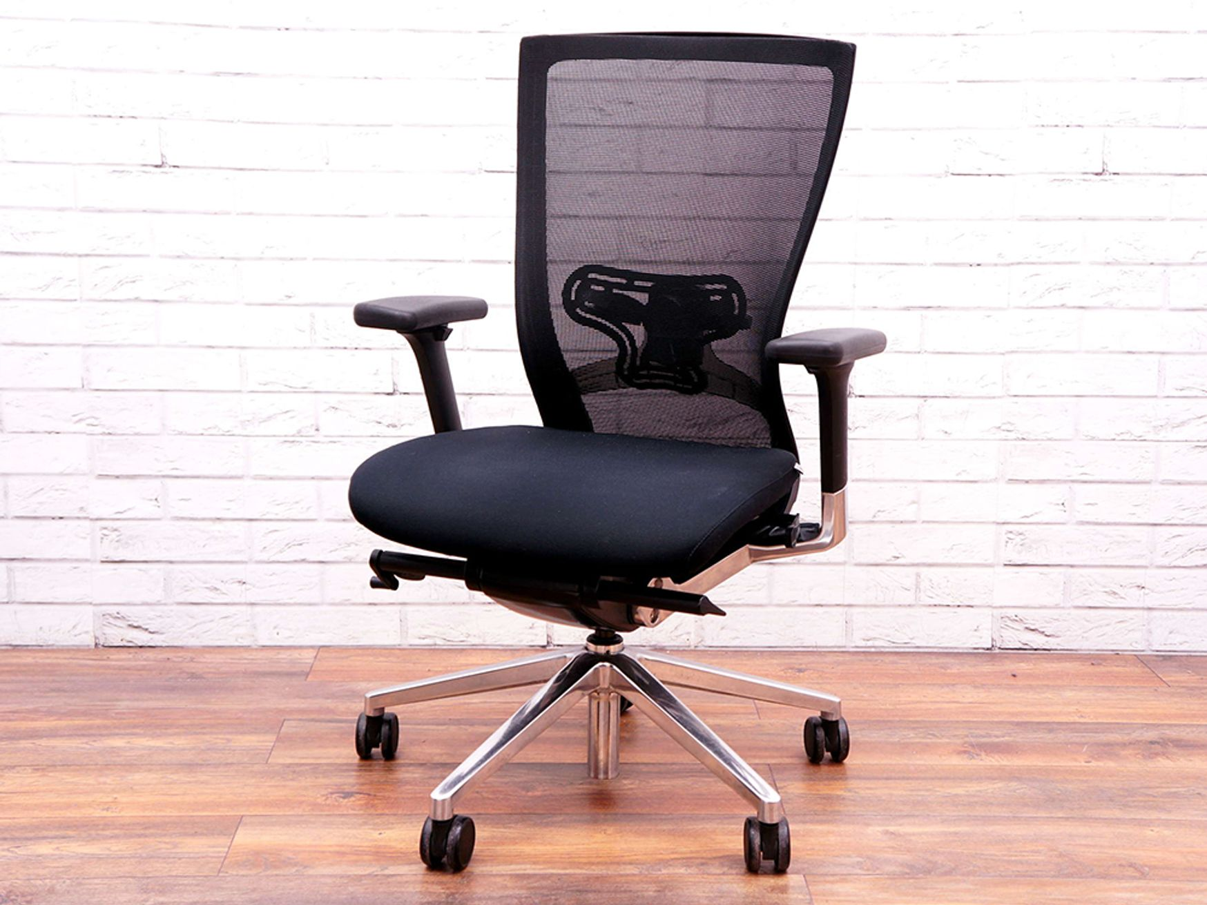 Used Techo Sidiz Mesh Operator Chairs with lumbar Support