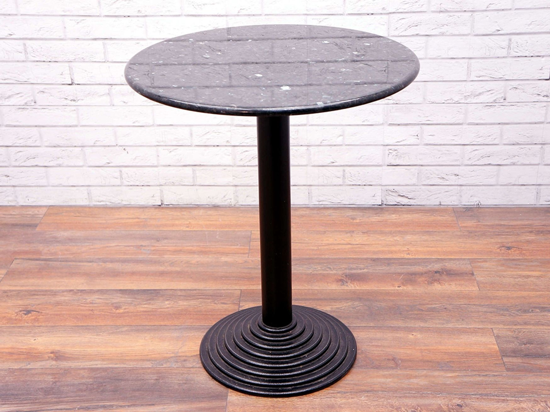 Used Circular Table with Granite Top