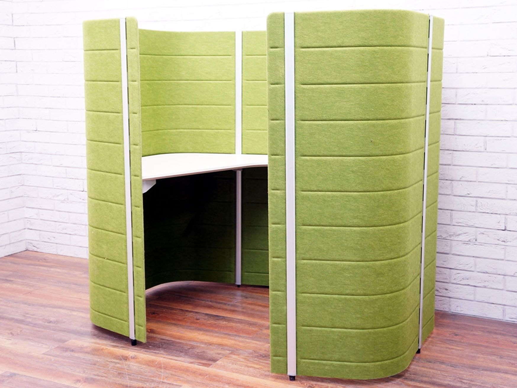 "Used Vitra ""Workbays Focus 1"" in Green"