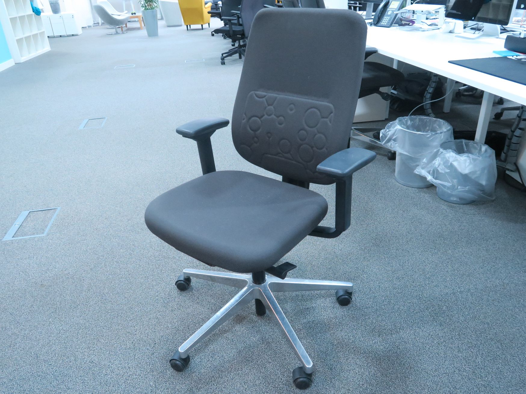 <b>Just Reduced</b> Used Steelcase task chairs with adjustable arms