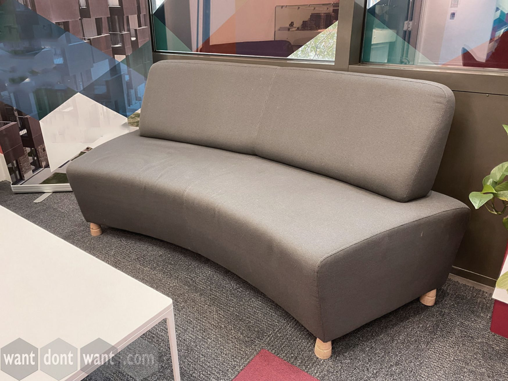 Used Boss Design 'Adda' curved sofa modules
