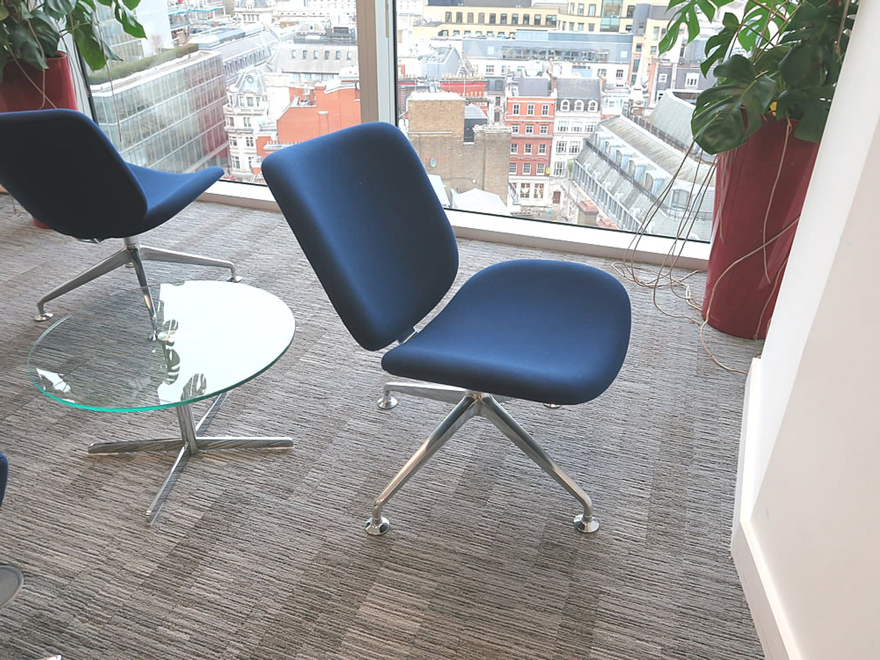 Used Orangebox 'Track' chairs in excellent condition.