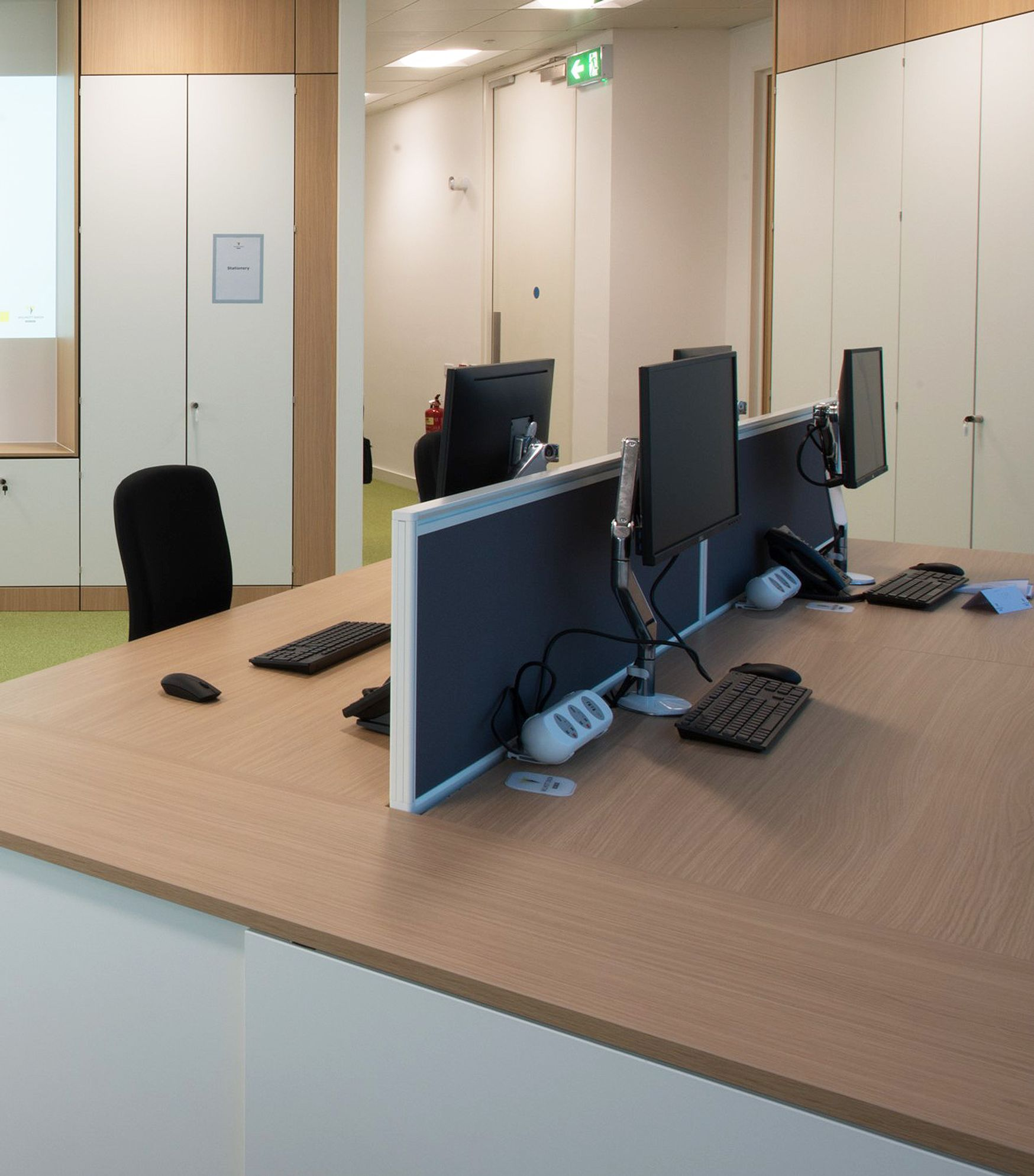 Used Humanscale 'M2' single monitor arms