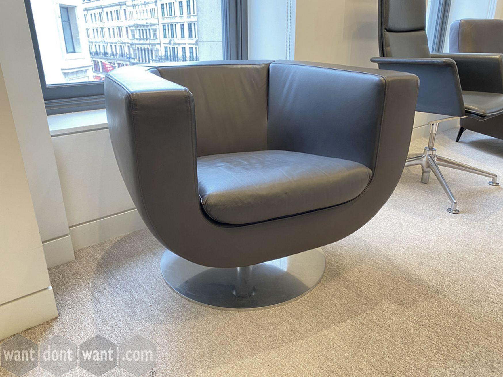 Used B&B Italia 'Tulip' swivel chair