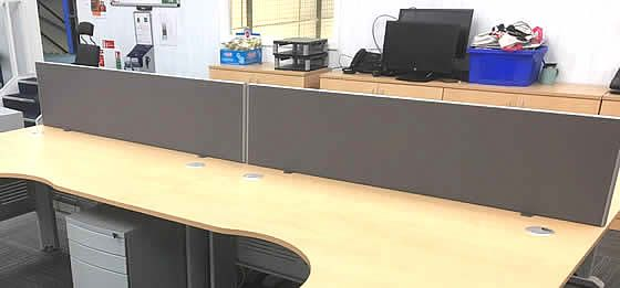 1600mm Desk dividing Screens