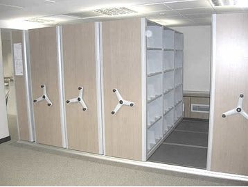 Bespoke Mobile Storage Systems designed to increase storage capacity by up to 60%