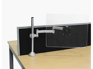BRAND NEW Humanscale monitor arms