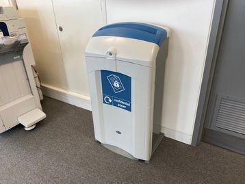 Used 'Nexus 100' quality recycling bins