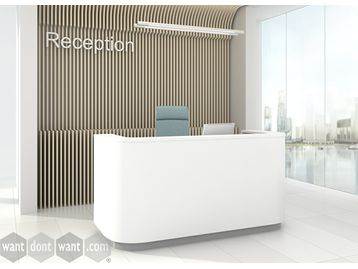 Modern contemporary design reception desk