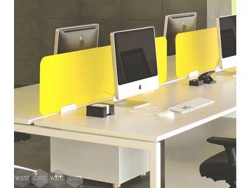 Brand New Unframed Perspex Desktop Dividing Screen